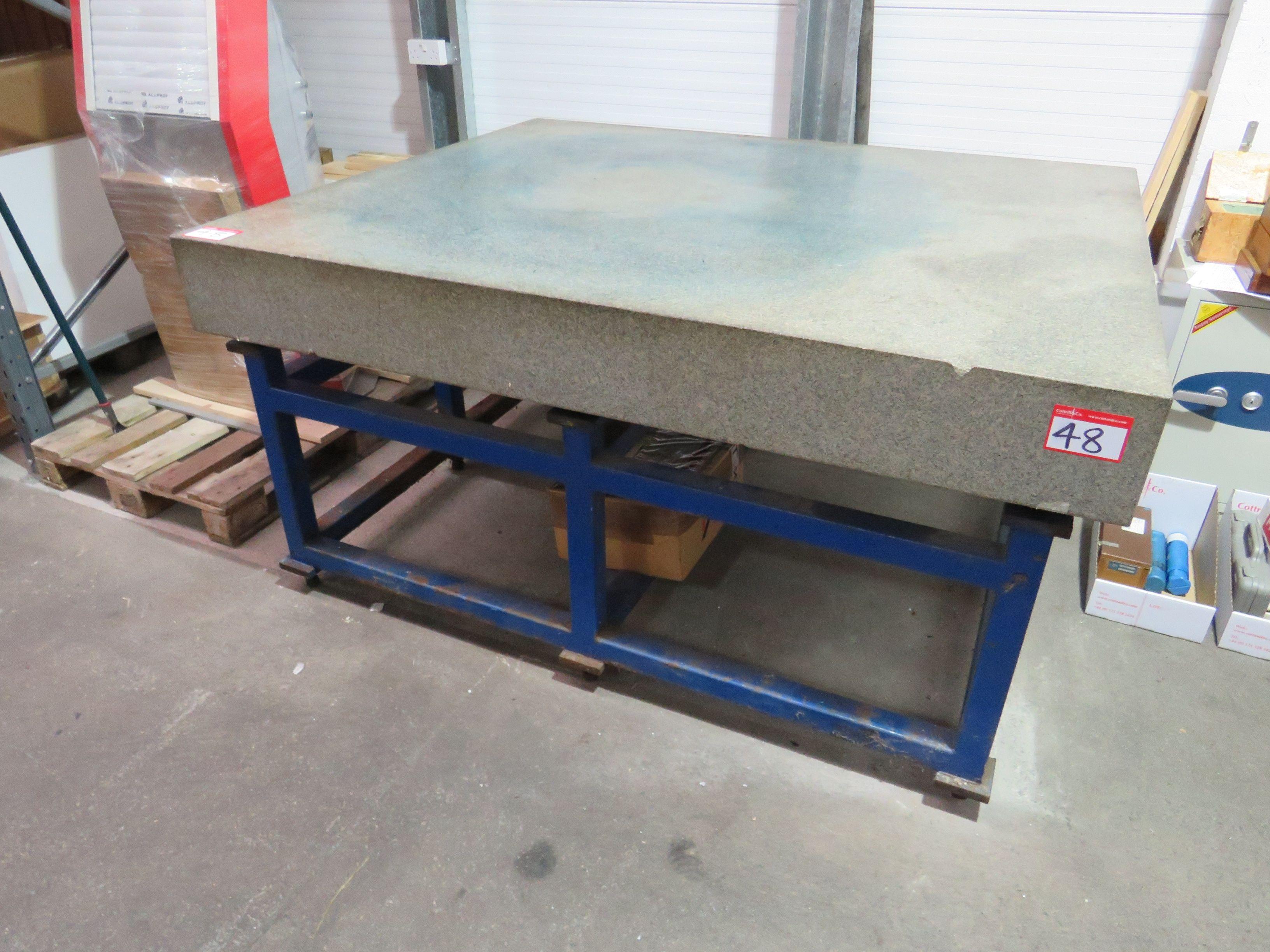 Granit Tisch 1500mm x 1800mm Höhe des Tisches 920mm