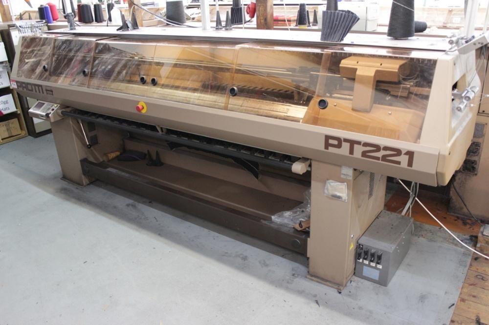 Protti 10 Gauge PT221 Computergesteuerte Flachstrickmaschine