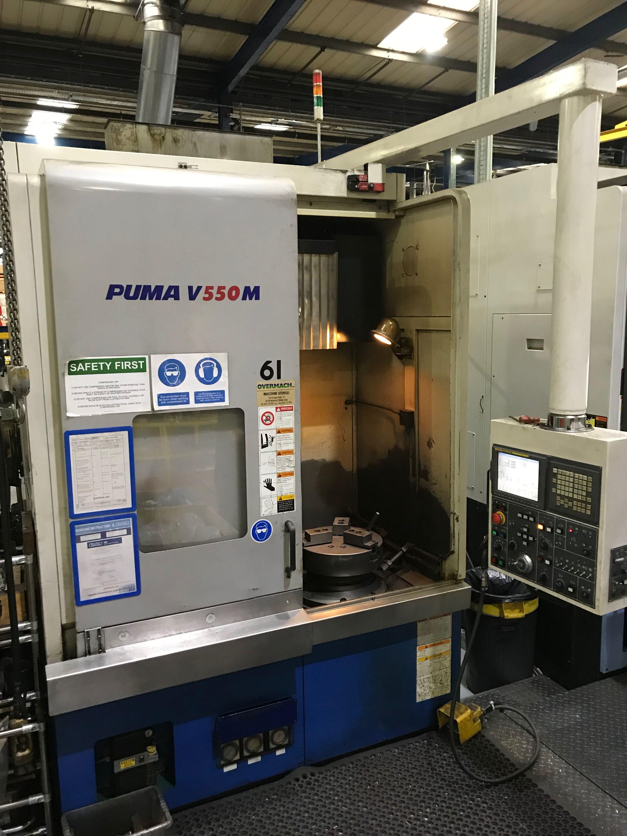 Doosan Puma V550M CNC Vertikaldrehmaschine