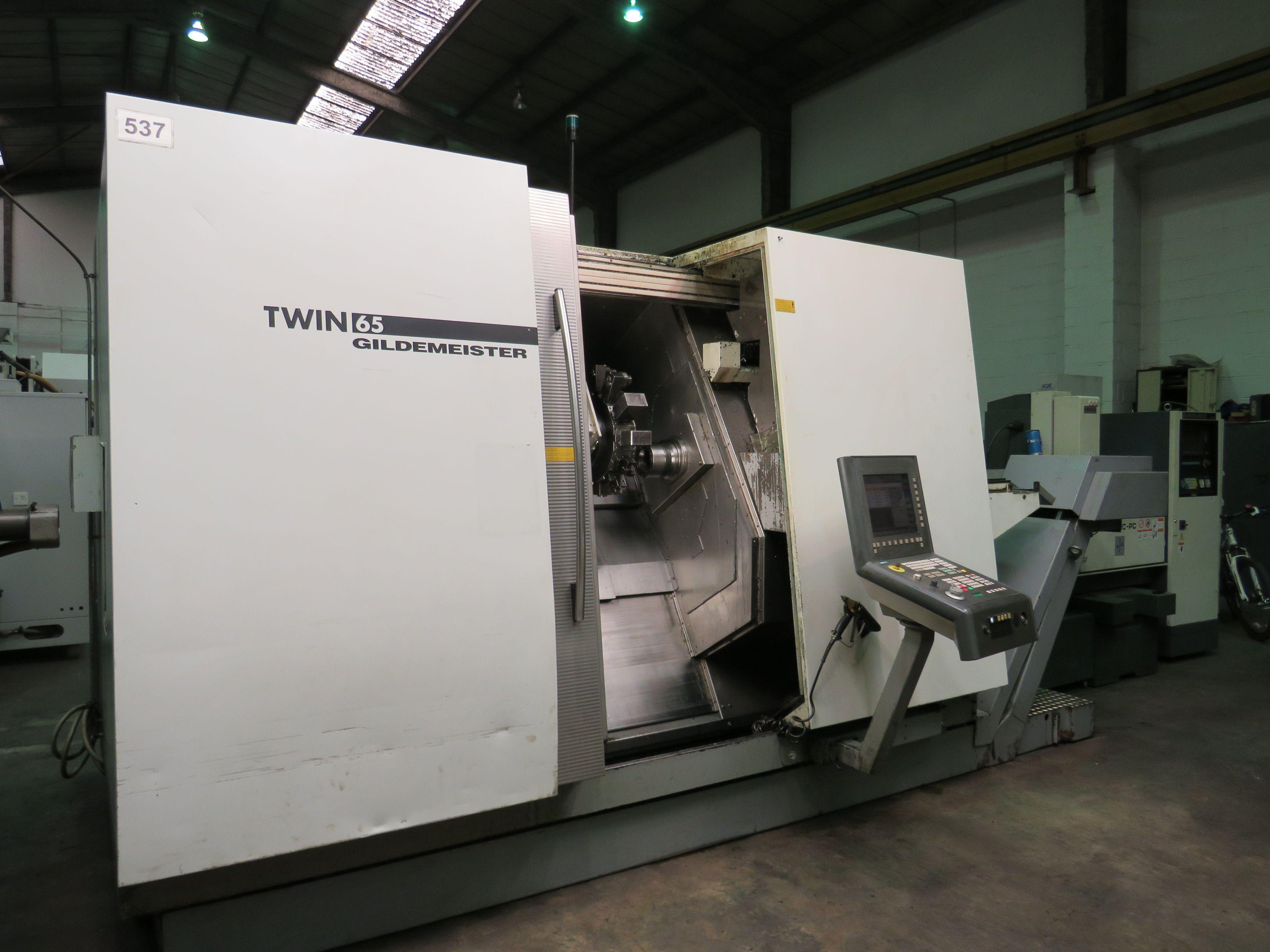 Gildemeister Twin 65 CNC Drehmaschine