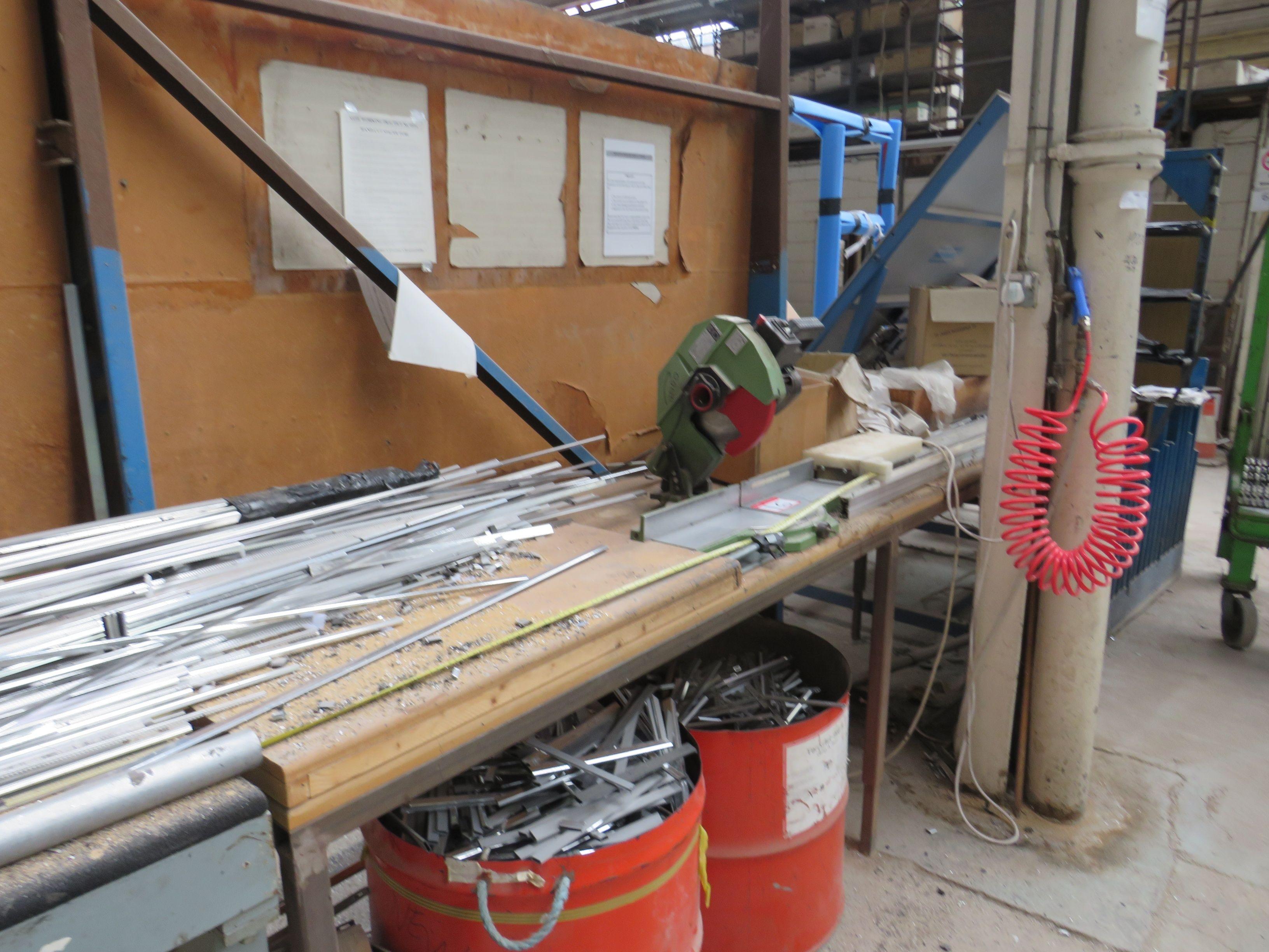 Pegic Bench Mounted Cut Off Saw