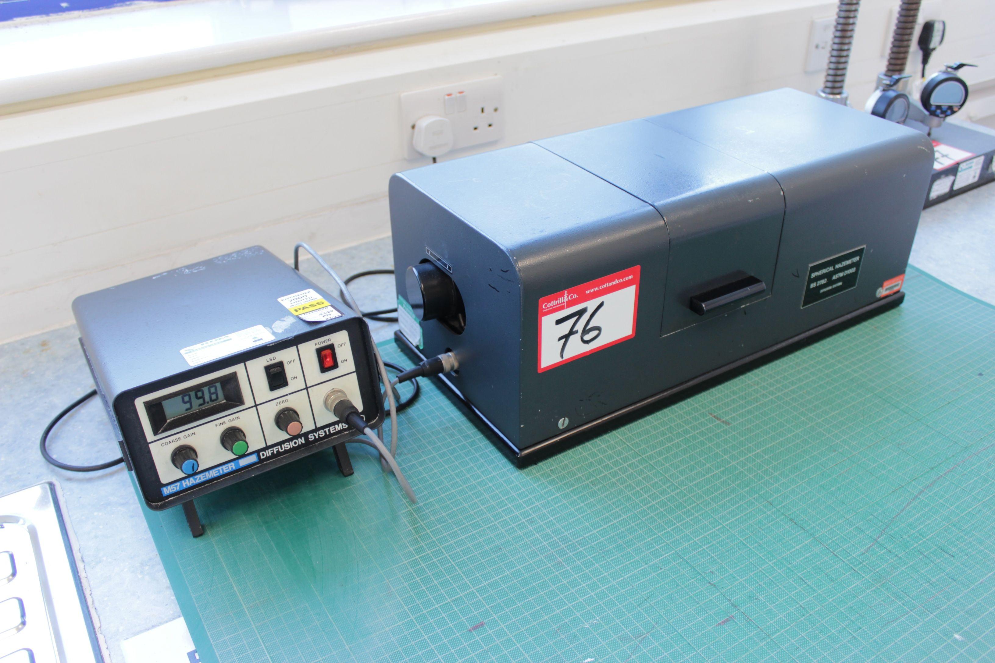 Diffusionssysteme M57 Hazemeter