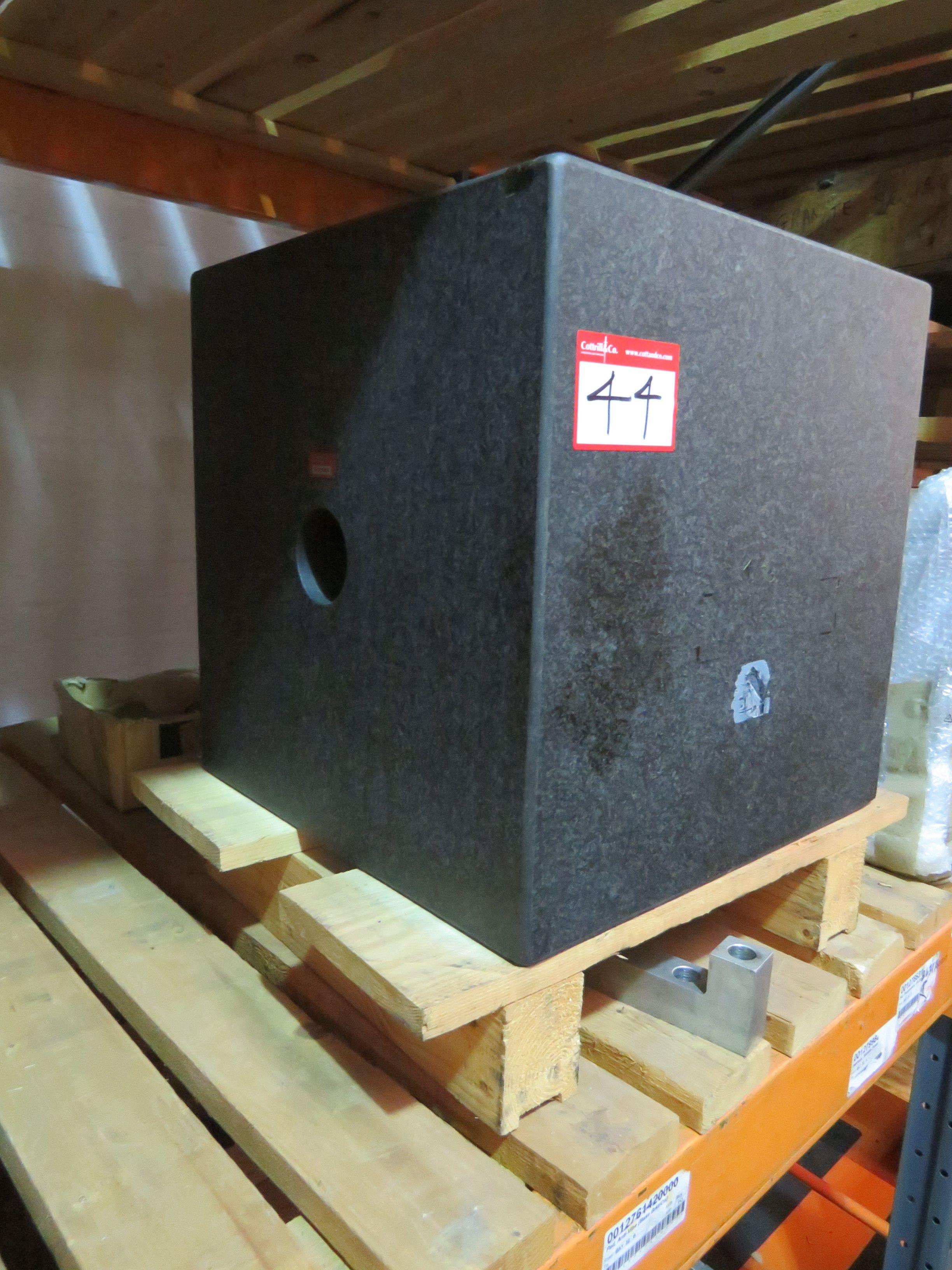 Granitblock 500 mm x 500 mm x 500 mm