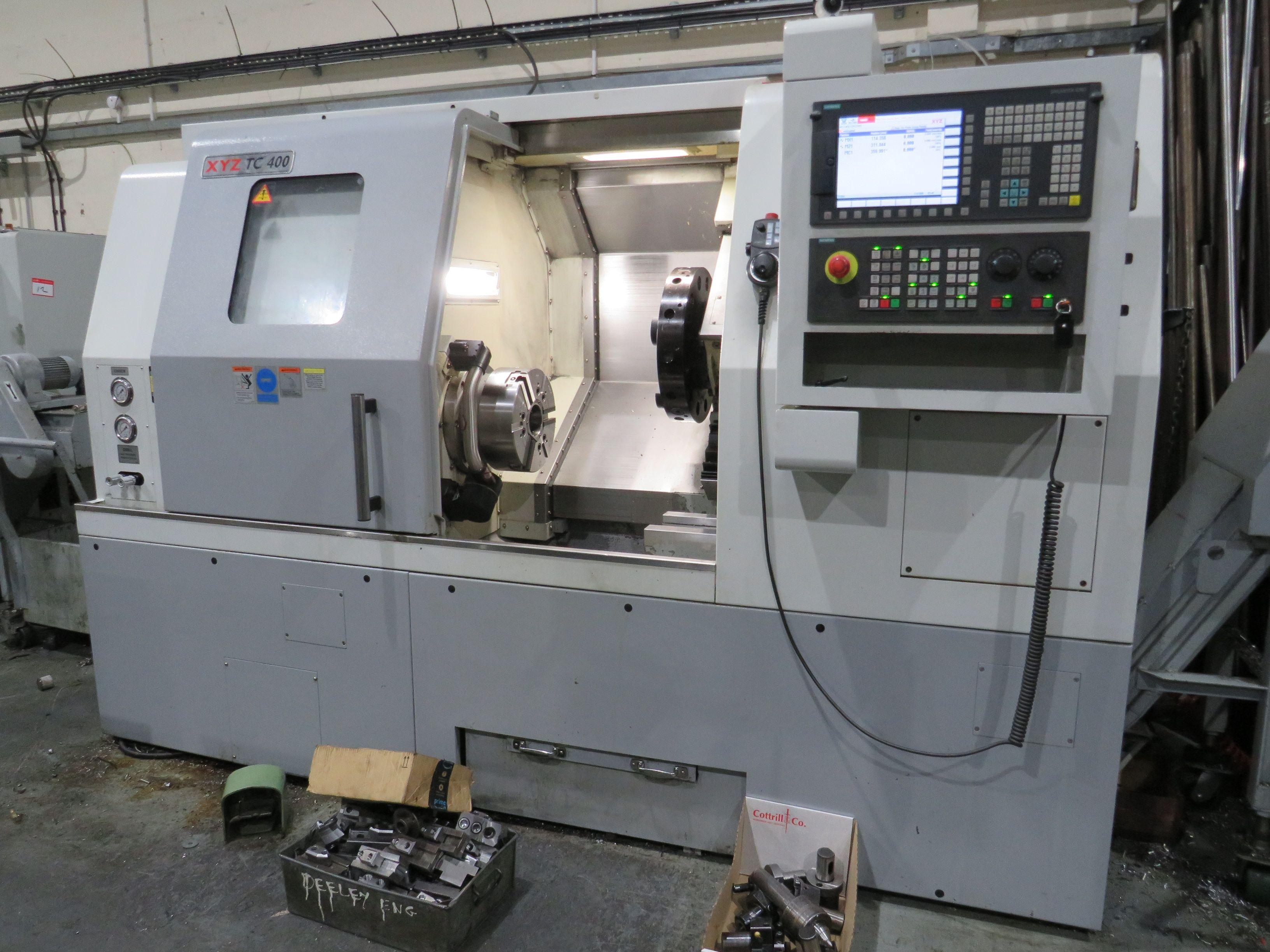 XYZ TC 400 CNC Drehmaschine