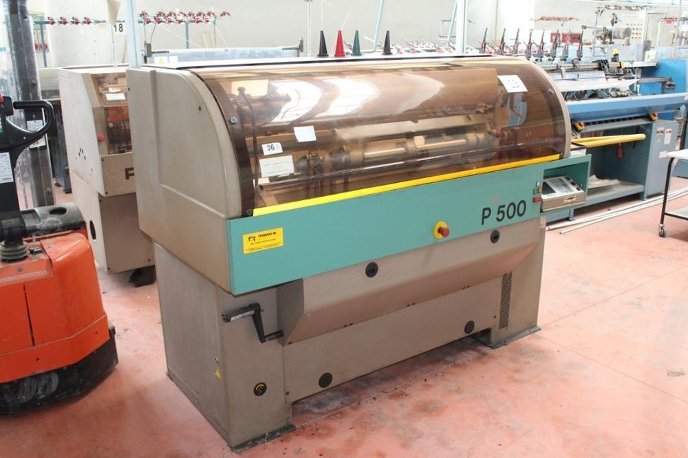Protti Modell P500 Flachbettstrickmaschine