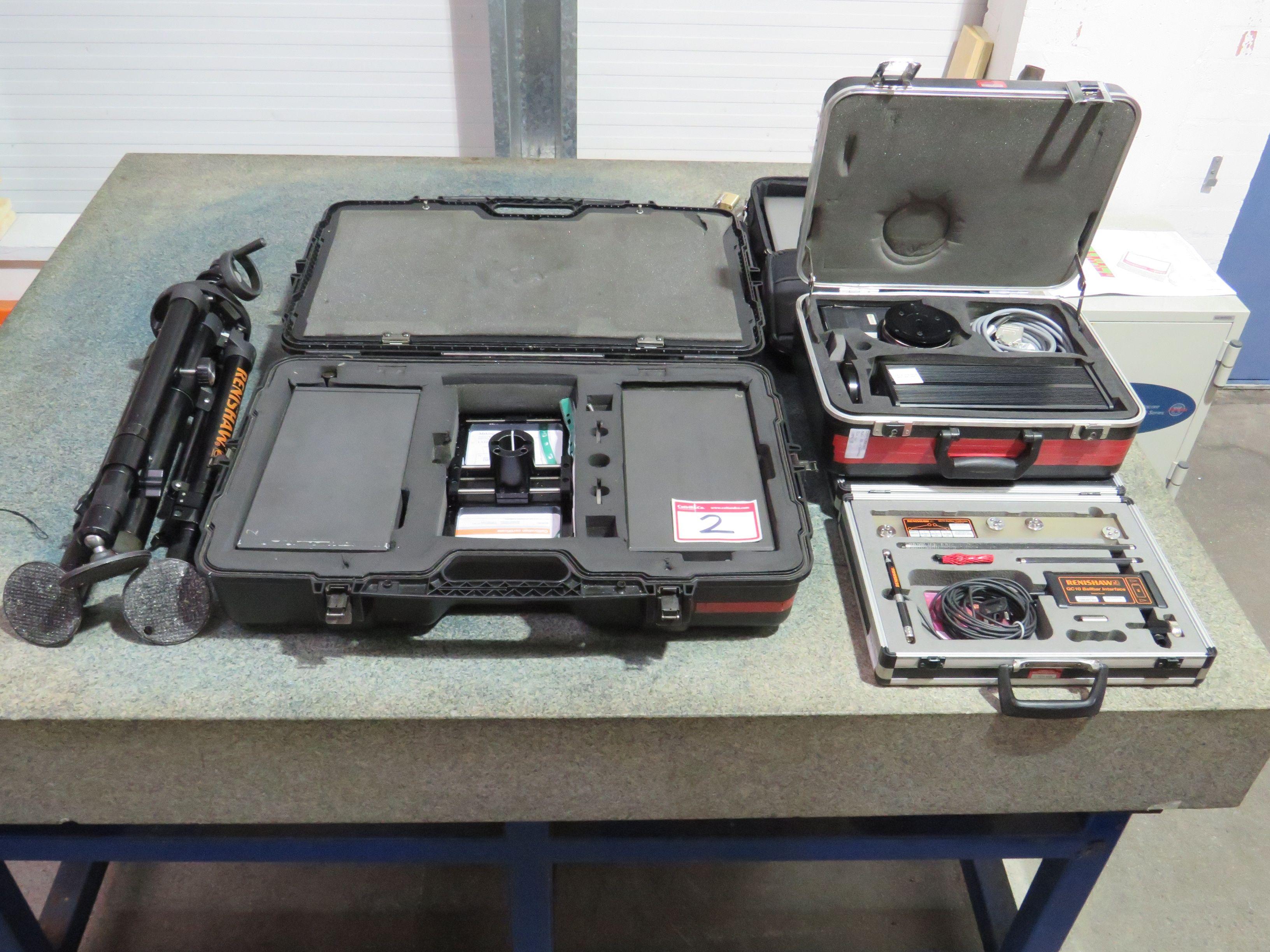 Site Box mit Renishaw Lasereinheit