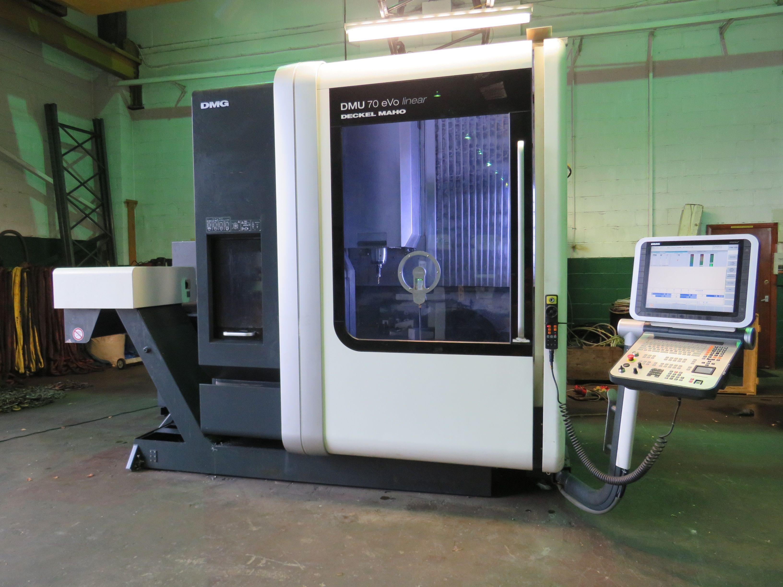 Deckel Maho DMU 70 EVO Lineares 5-Achsen-Bearbeitungszentrum