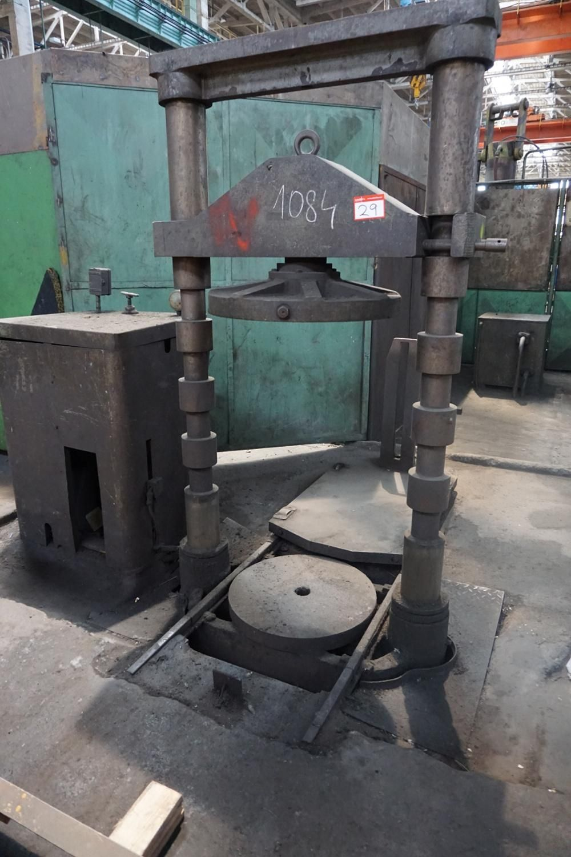 Kleine hydraulische Presse