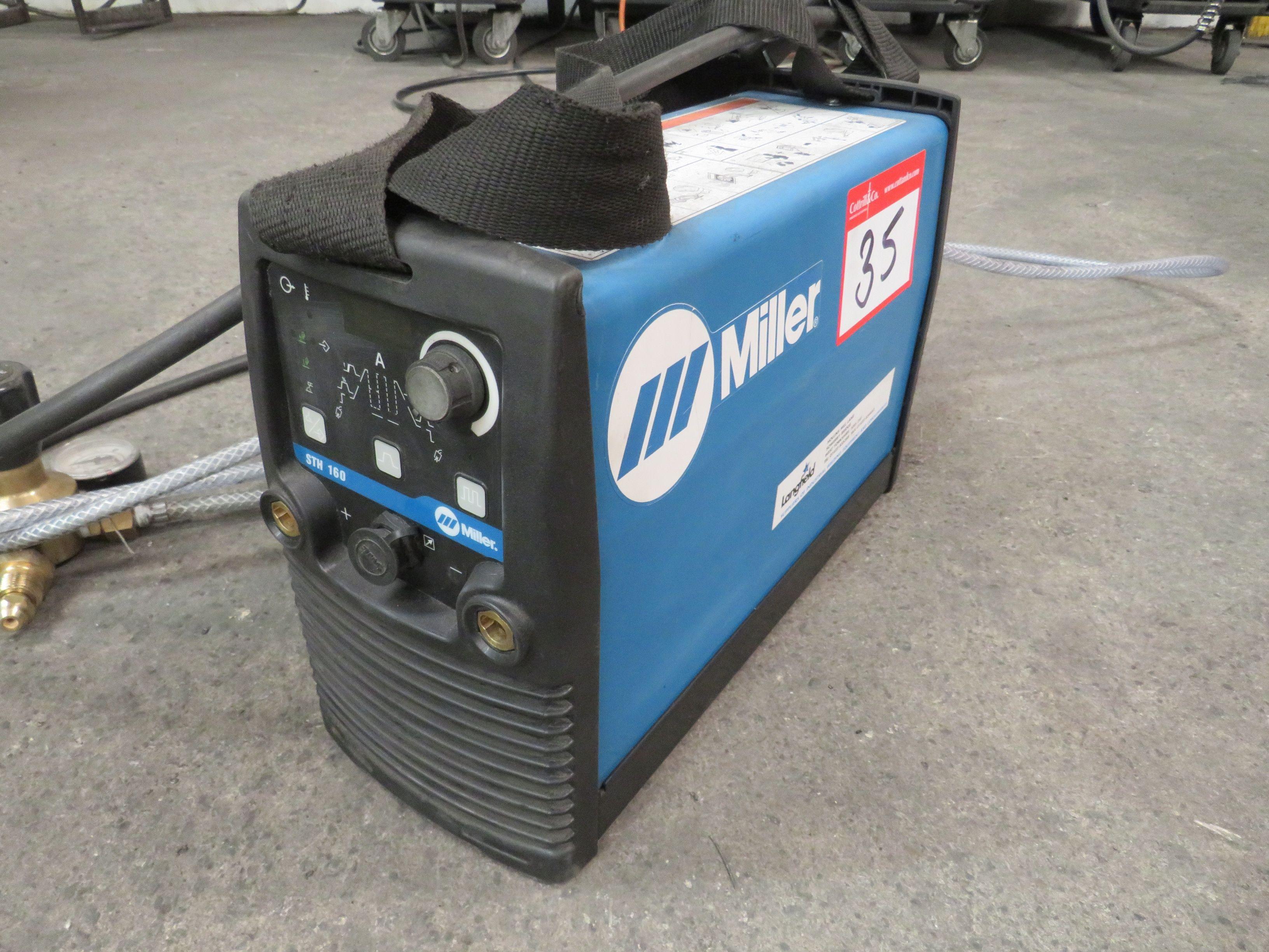 Miller STH160 Peruk-Schweißer