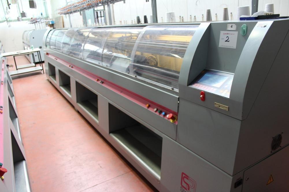 Steiger Vesta Multi Flachbettstrickmaschine