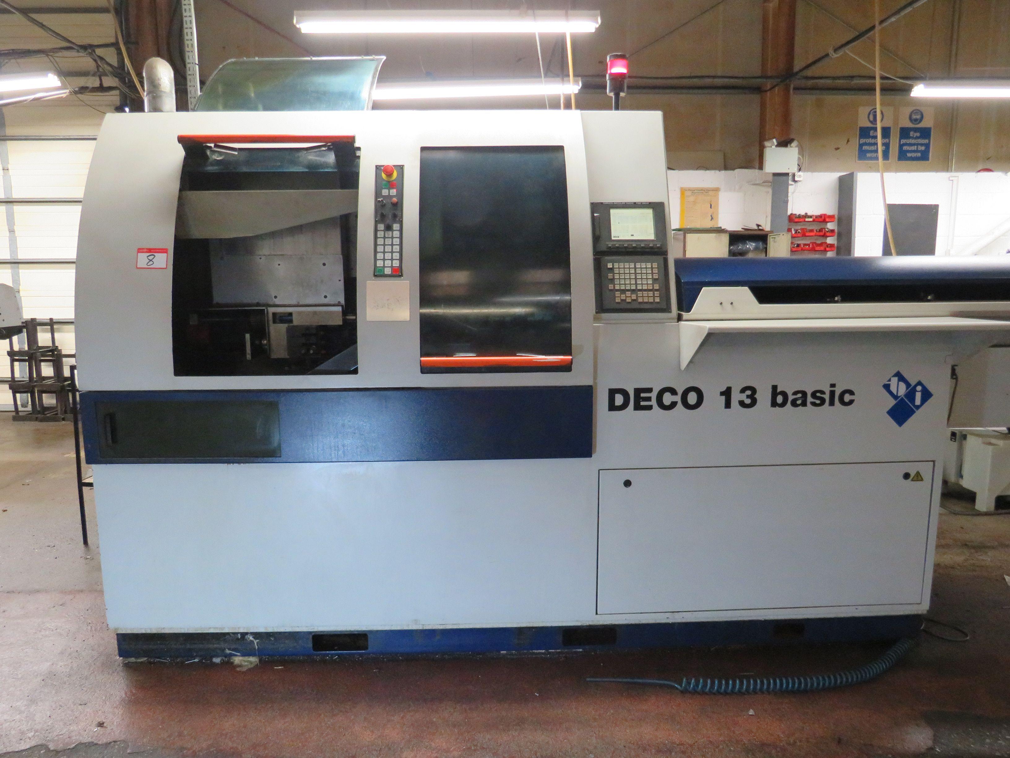 Tornos Deco 13 Basic Schweizer CNC-Drehmaschine