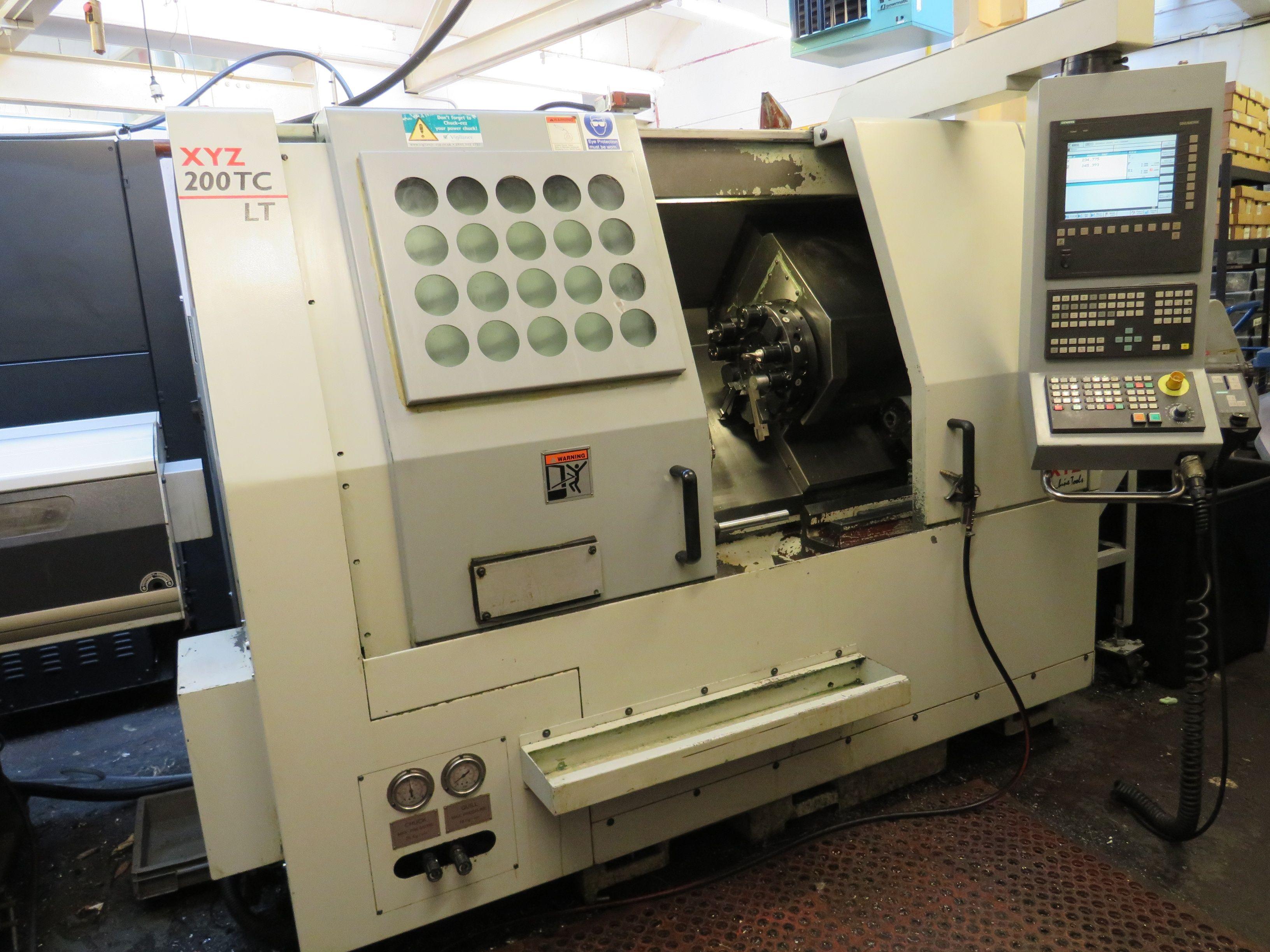 XYZ 200 TC.LT CNC Drehmaschine