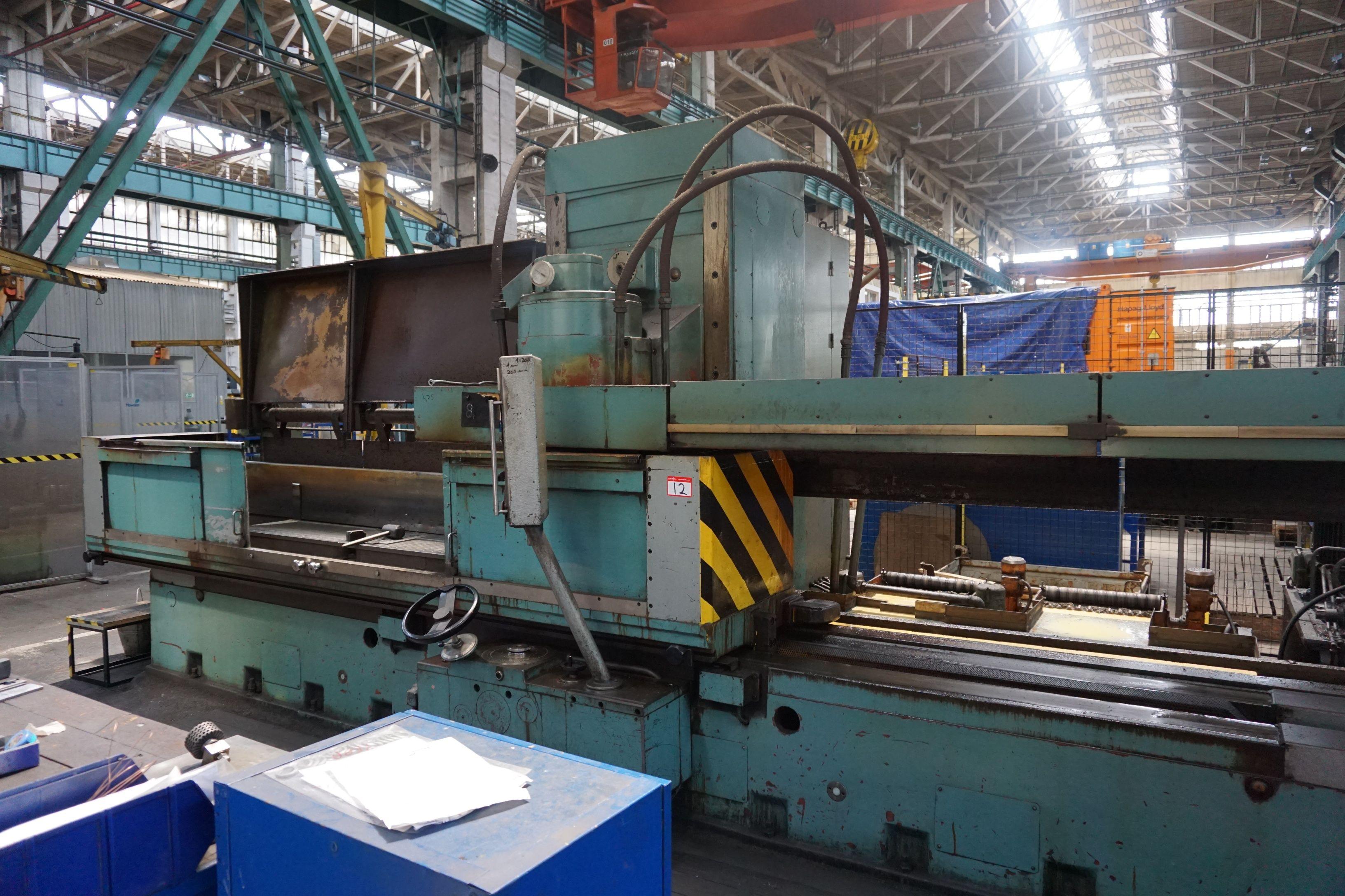 TOS BPV 40 Tisch-Flachschleifmaschine mit vertikaler Spindel