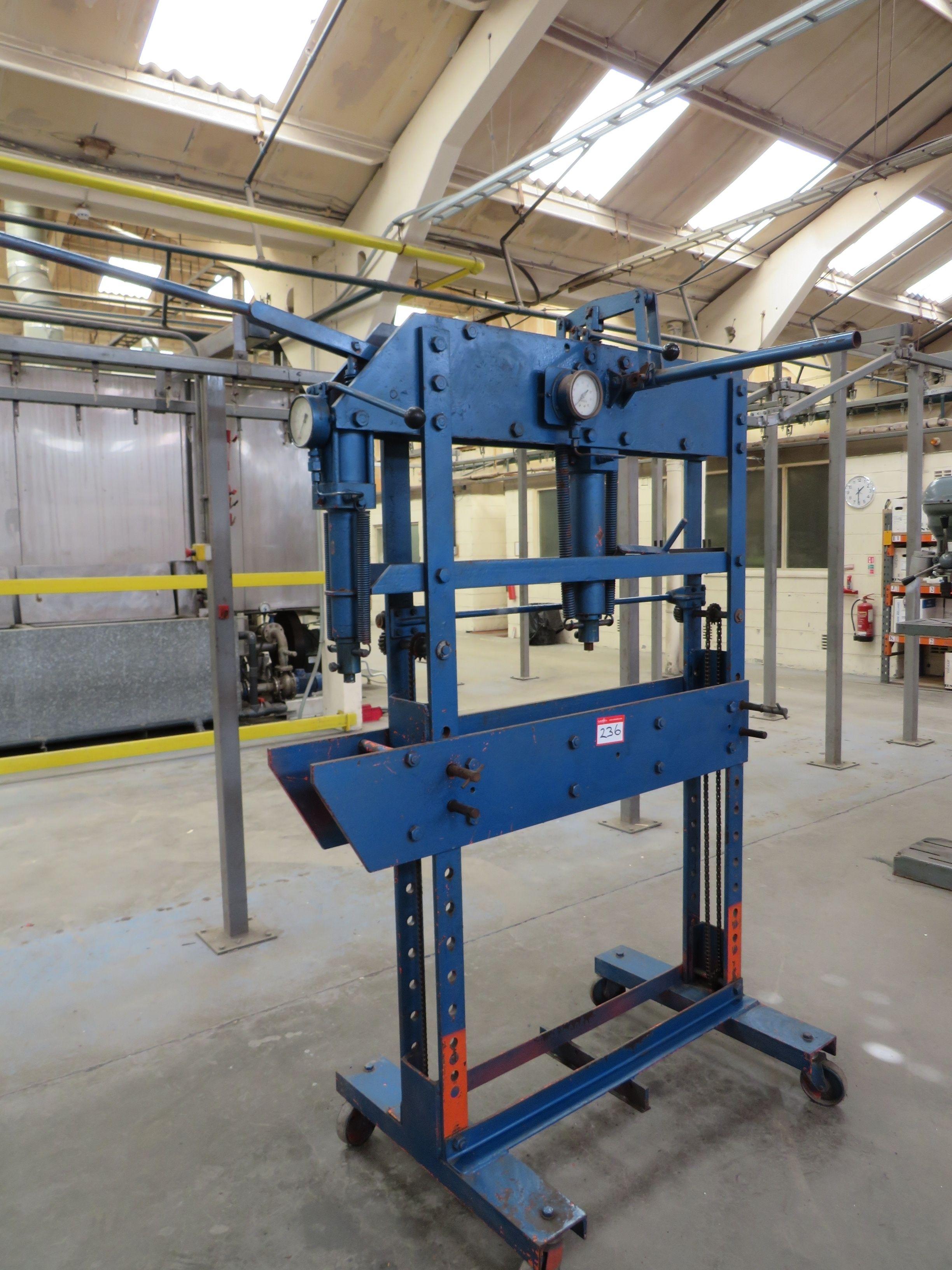 40-Tonnen-Garagenpresse