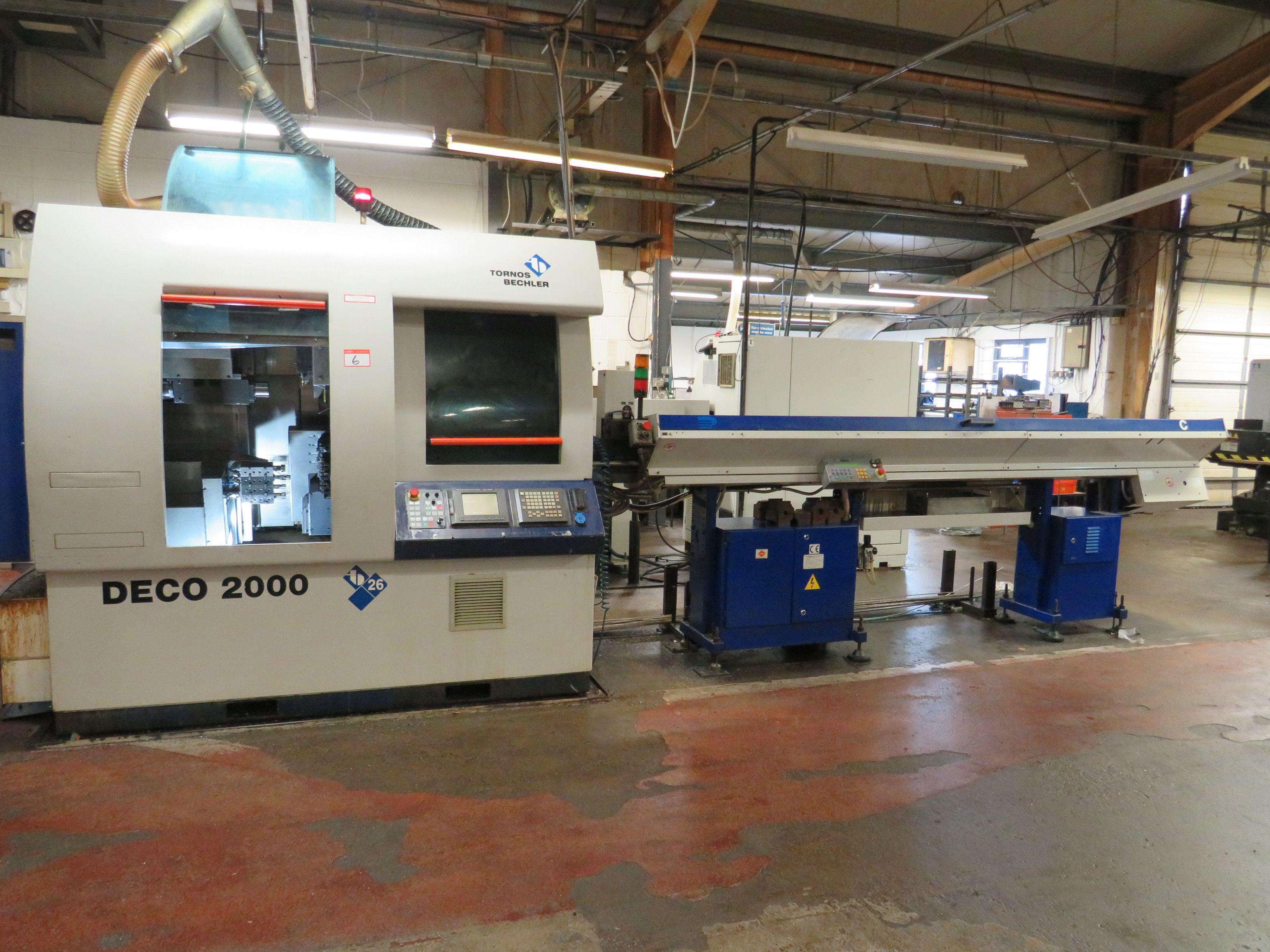 Tornos Deco 2000/26 Schweizer CNC-Drehmaschine