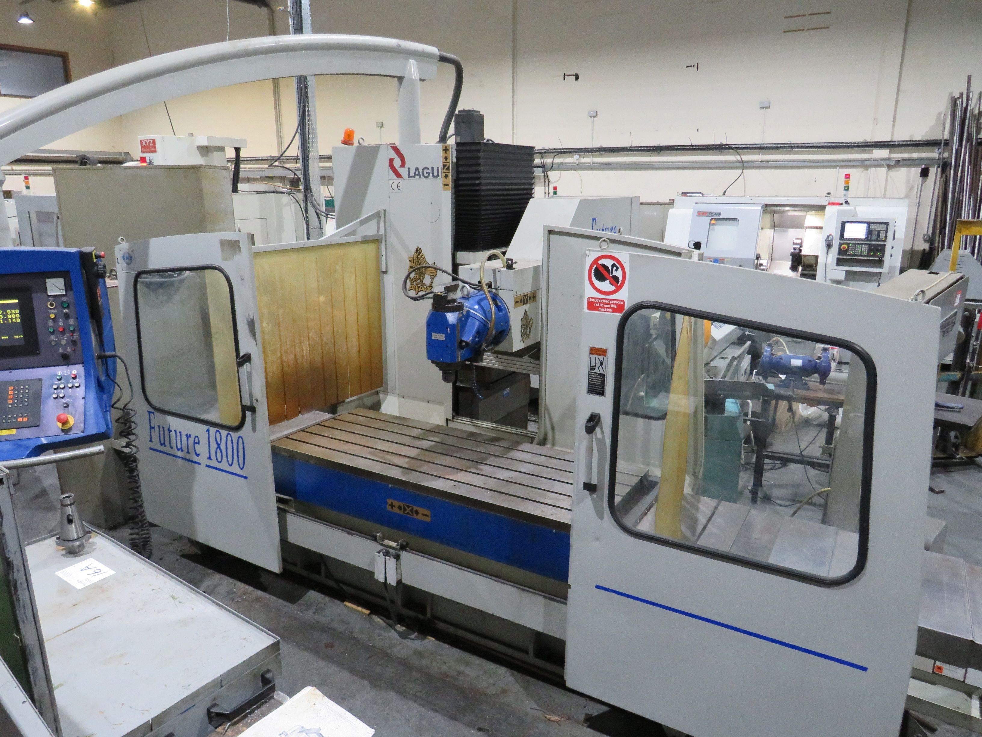 Lagun Future 1800 Fräsmaschine