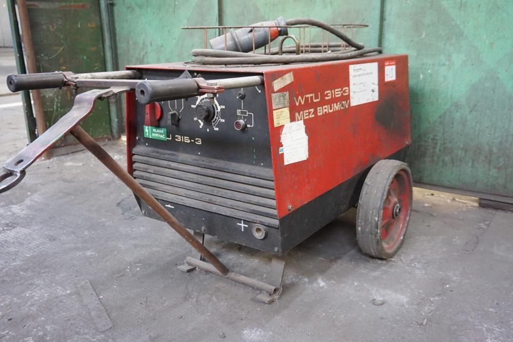 Mig-Schweißgerät Modell WTU 315-3