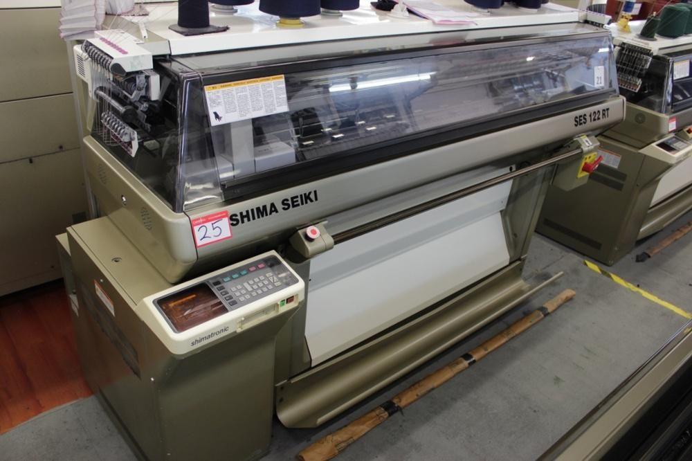 Shima Seiki SES122RT Computerized 10 calibre máquina para hacer punto