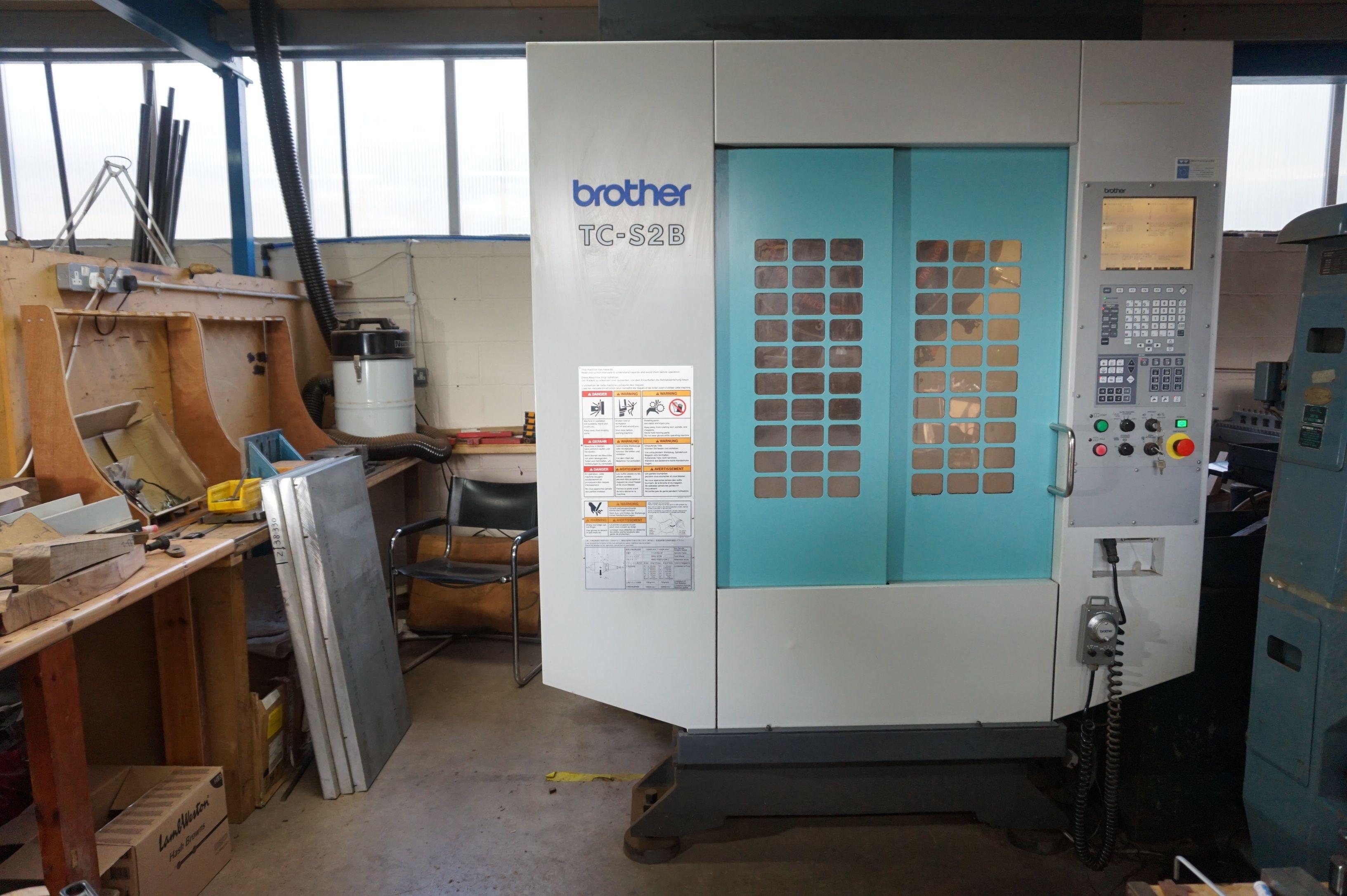 Brother TC-S2B CNC-Bohrklopfzentrum