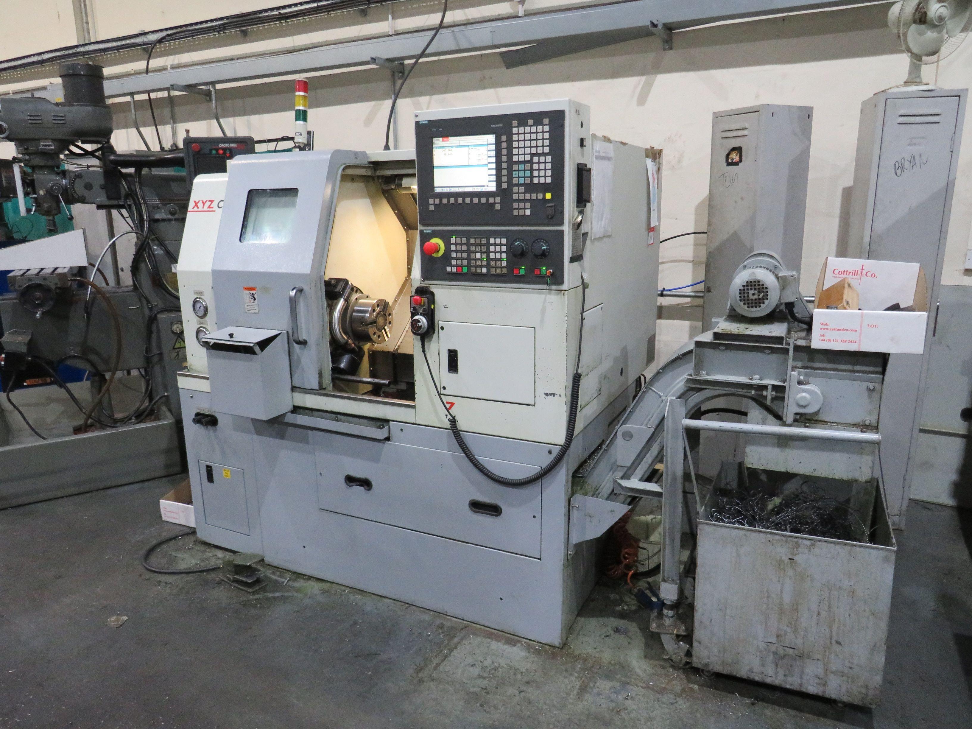 XYZ Compact Turn 52 CNC Drehmaschine