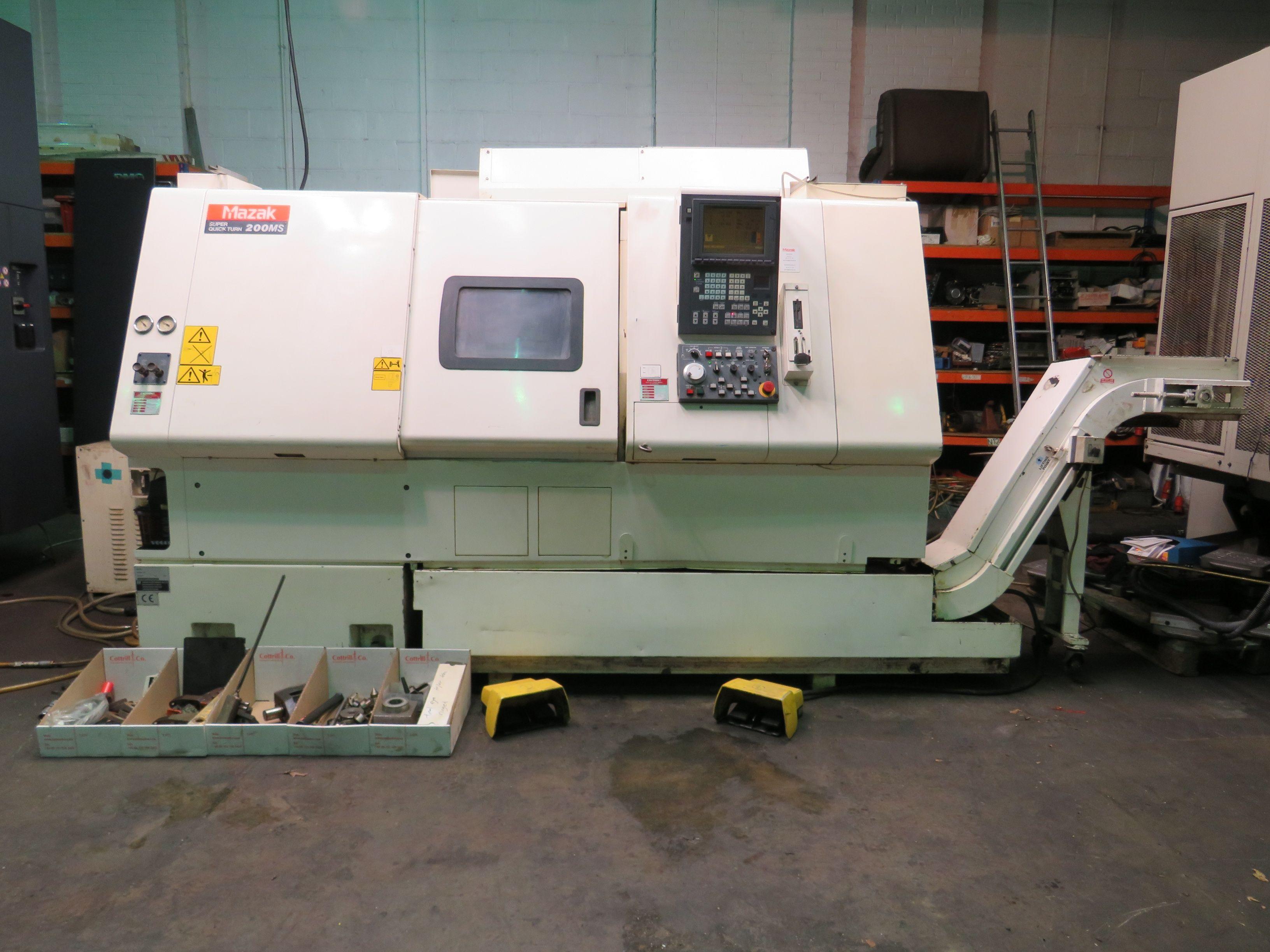 Mazak Super Quick Turn 200MS CNC-Drehmaschine