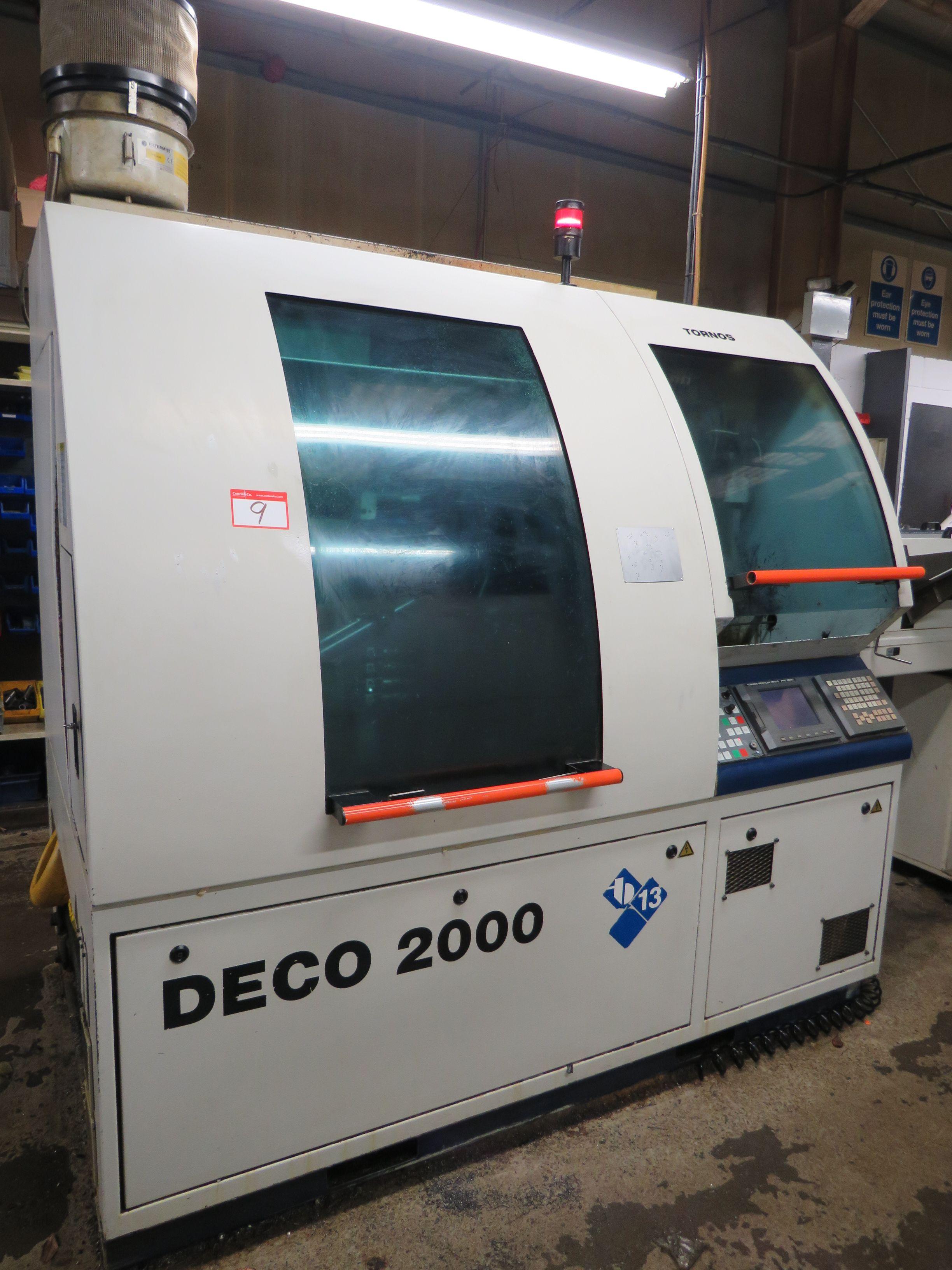 Tornos Deco 2000/13 Schweizer CNC-Drehmaschine