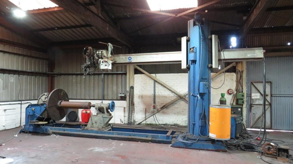 Unterpulverschweißmaschine Esab 800
