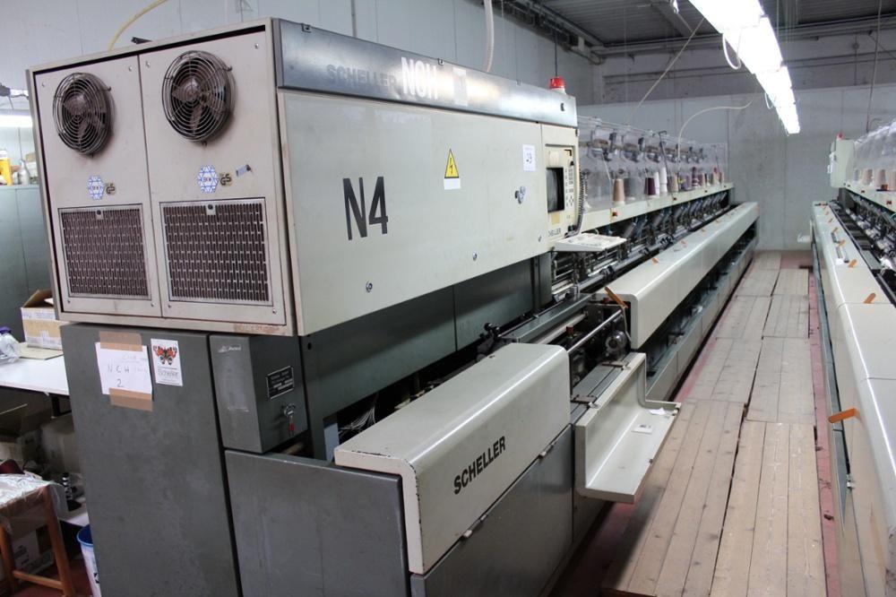 Scheller modelo NCH Vollmodische Flachstrickmaschine