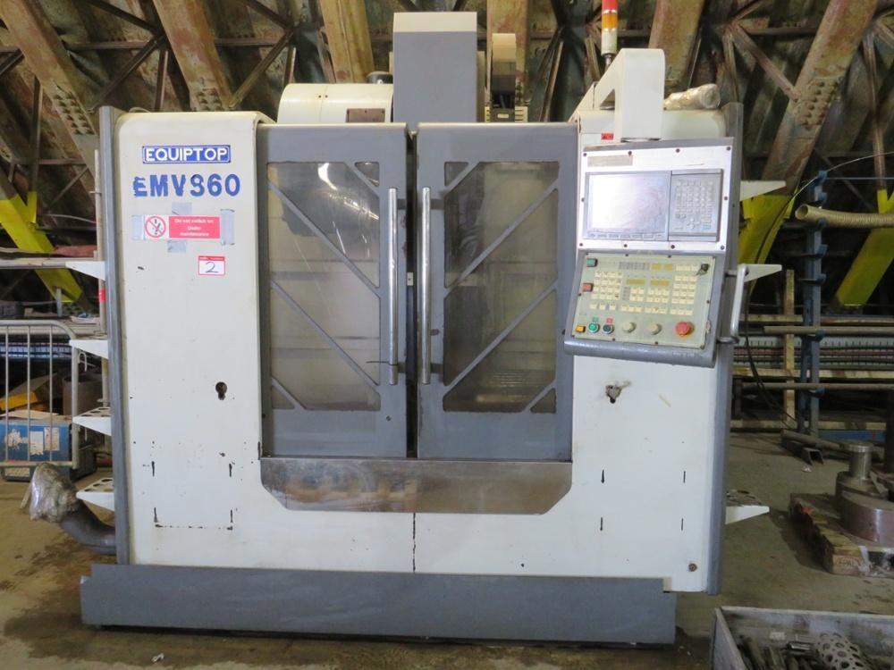 Equipitop EMV 860 CNC-Bearbeitungszentrum