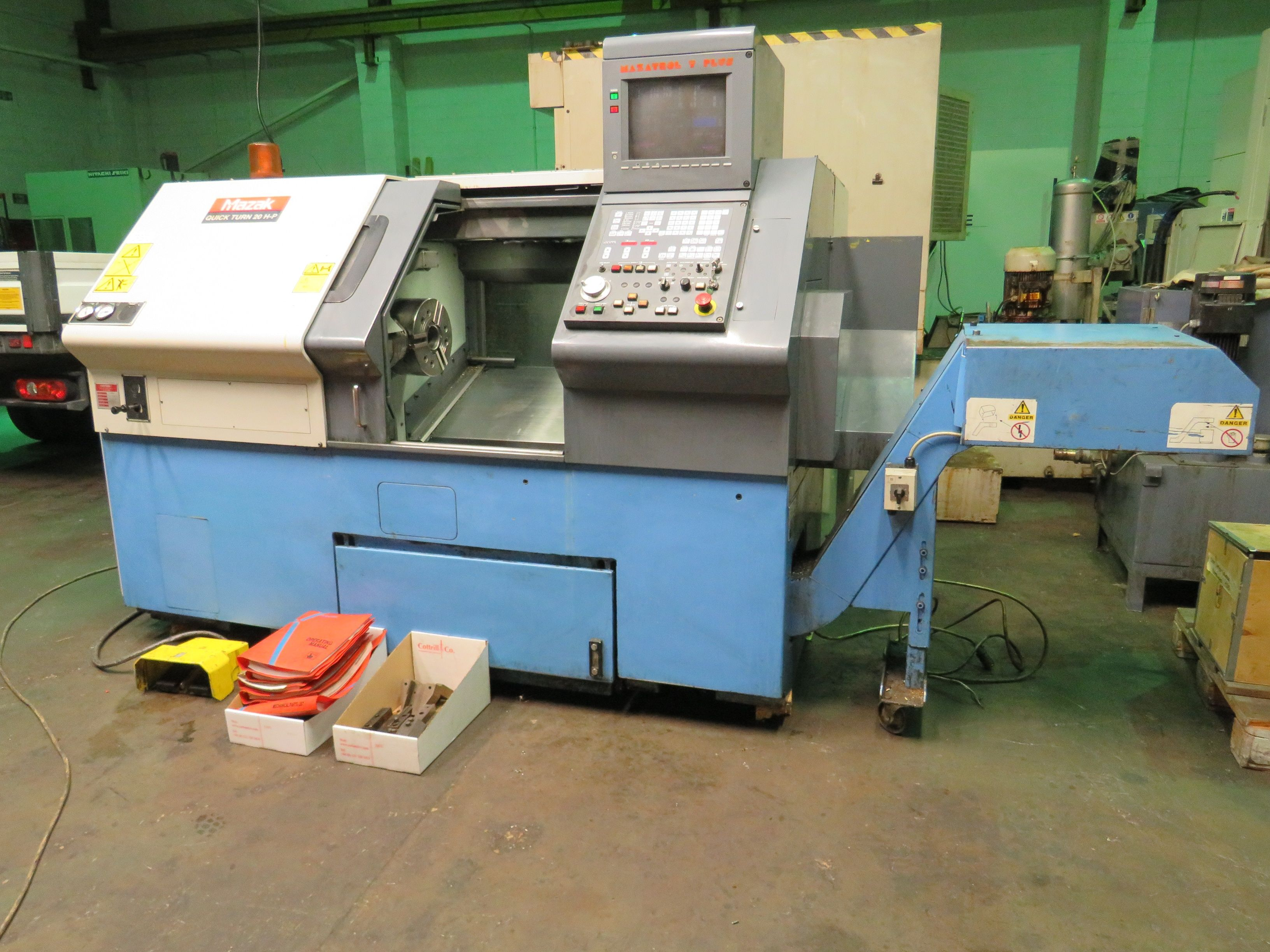 Mazak Quick Turn 20 H-P CNC-Drehmaschine