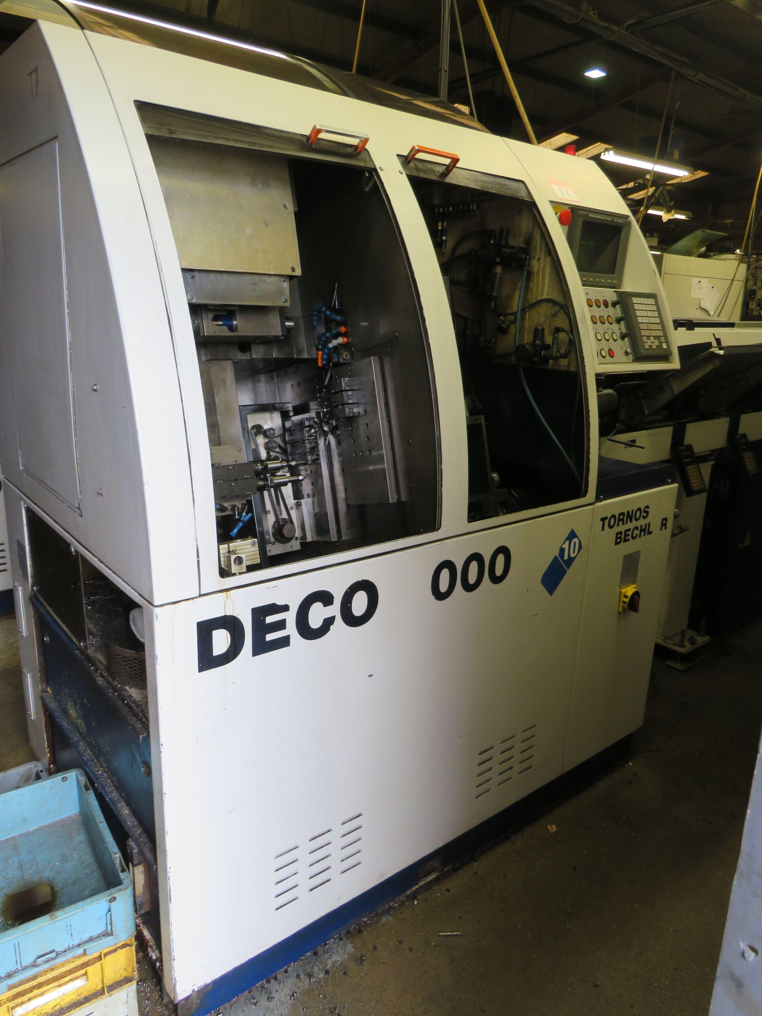 Tornos Deco 2000/10 Schweizer CNC-Drehmaschine