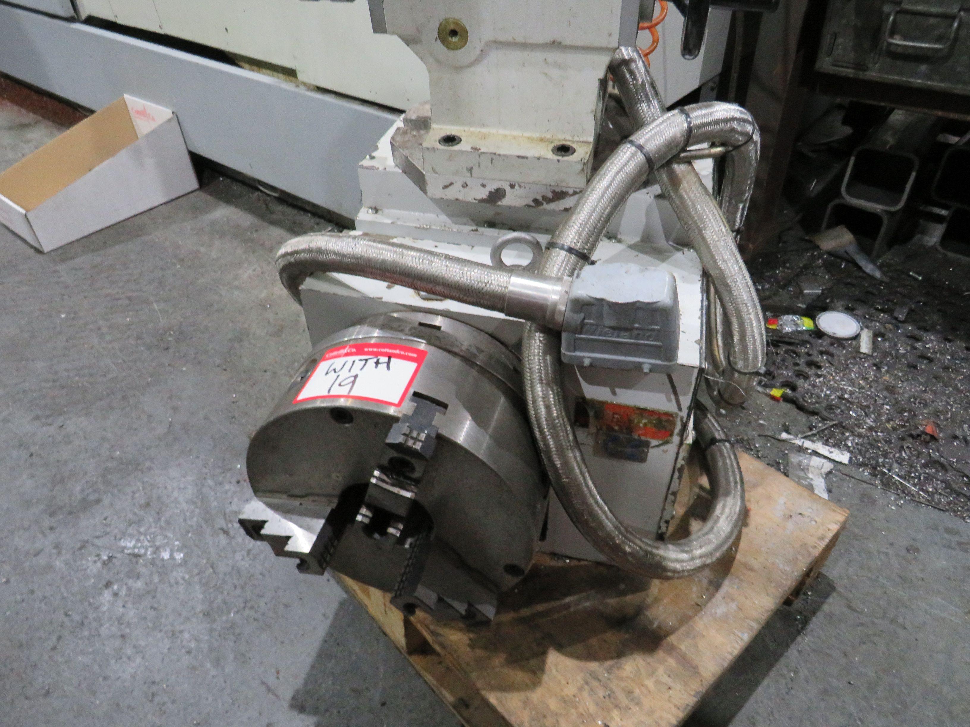 4. Achseneinheit, 270 mm 3 Backenfutter & Reitstock
