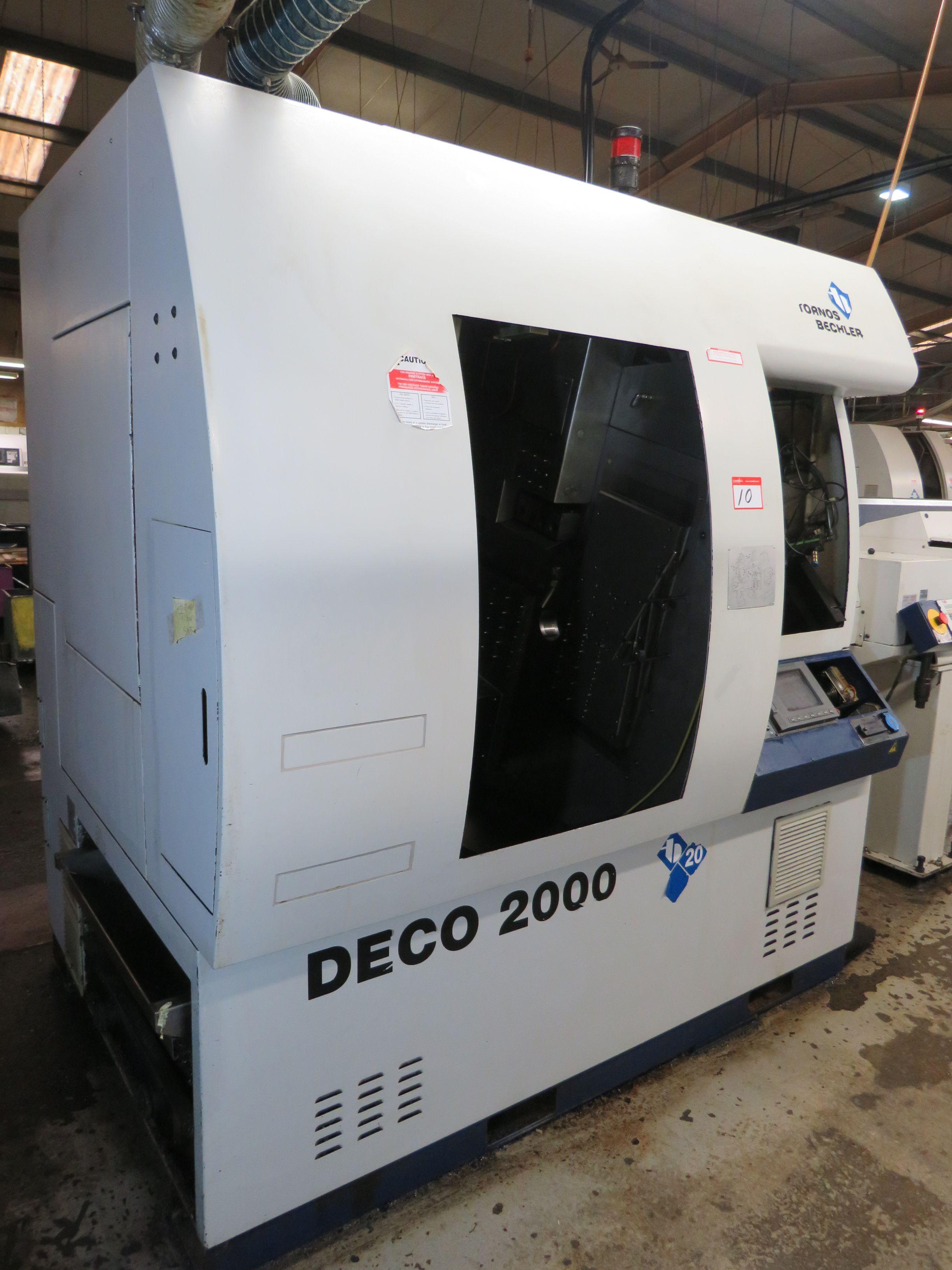 Tornos Deco 2000 Schweizer CNC-Drehmaschine