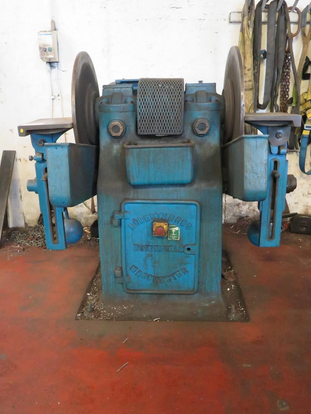 Robertson 2ft Pad Linisher