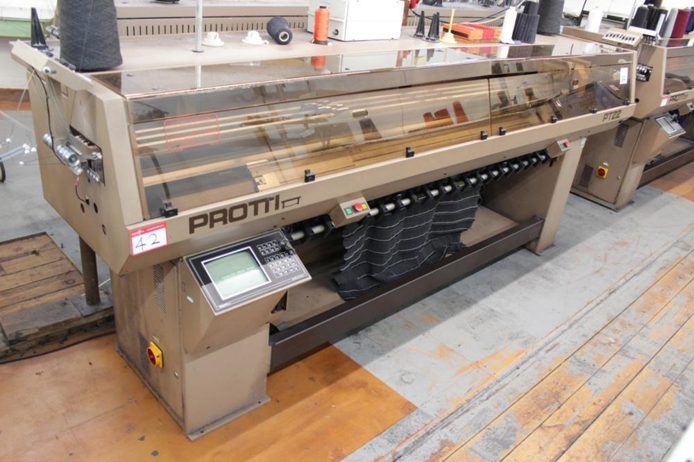 Máquina de tejer plana computarizada Protxi 10 Gauge PT22