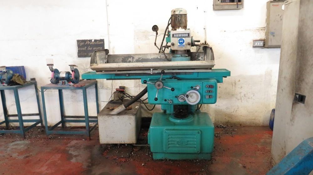 Abwood Vertikalspindel-Flachschleifmaschine