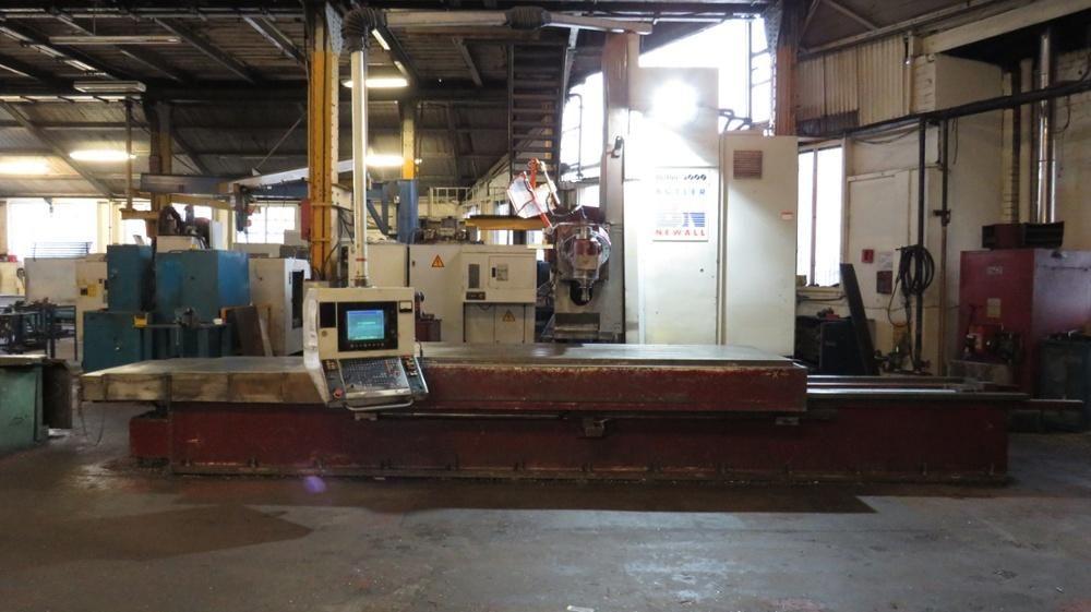 Butler Newall 3000 Elgamill Fräsmaschine