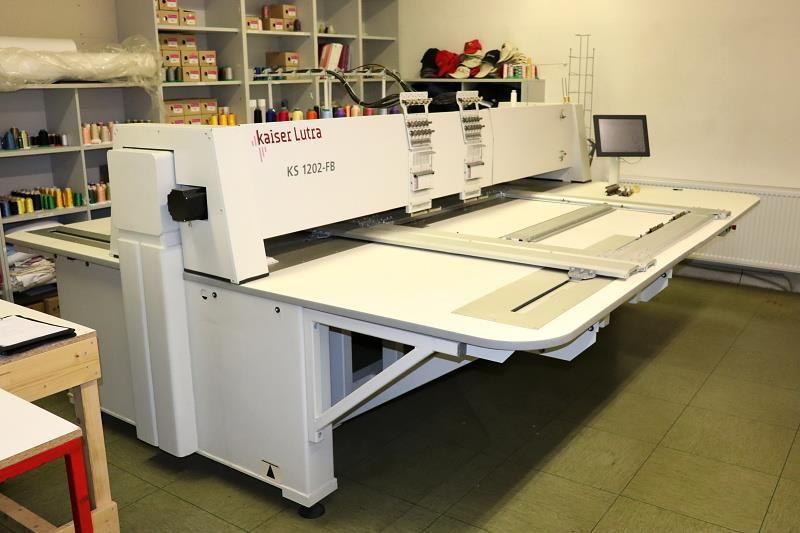 1 Stickmaschine Kaiser Lutra KS 1202-FB