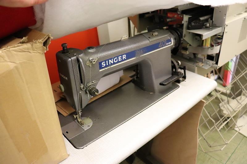 1 Nähmaschine Singer 49 D210GB