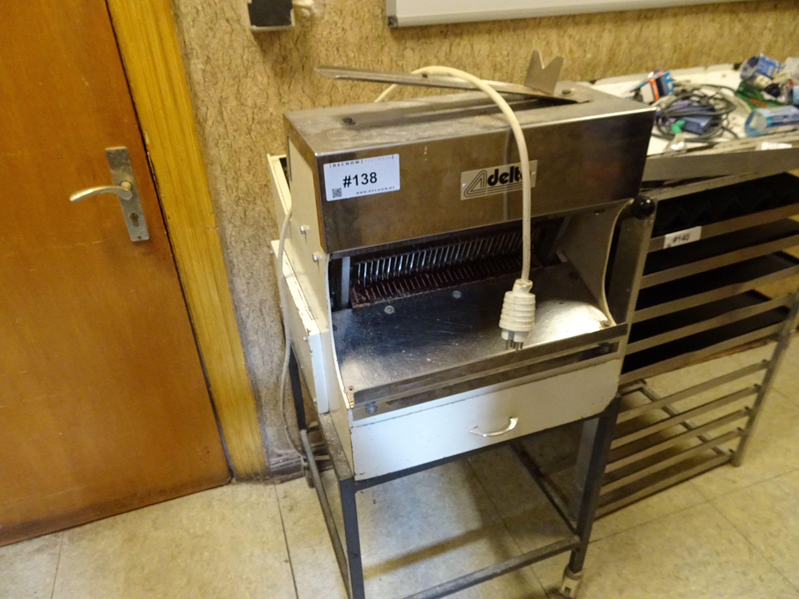 1 Brotschneidemaschine Delta DT 4010
