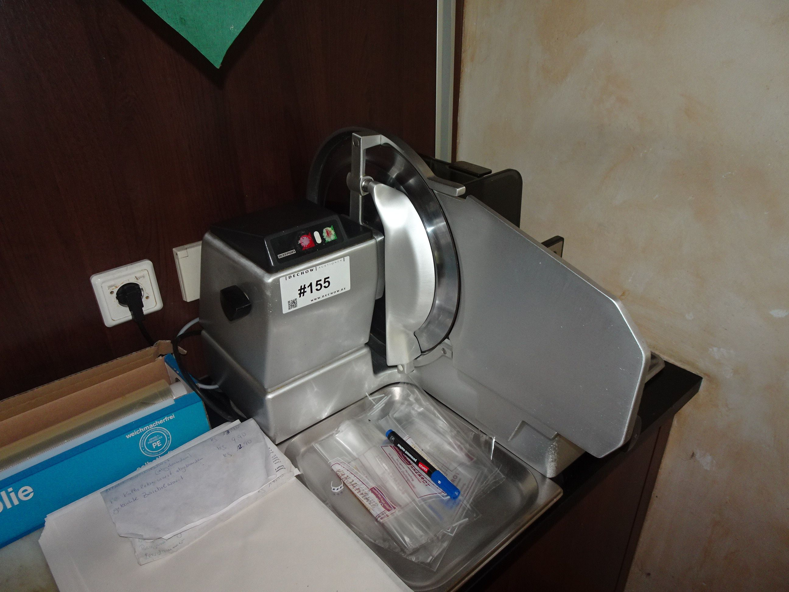 1 Aufschnitt-Schneidemaschine Bizerba 1409863 VS8