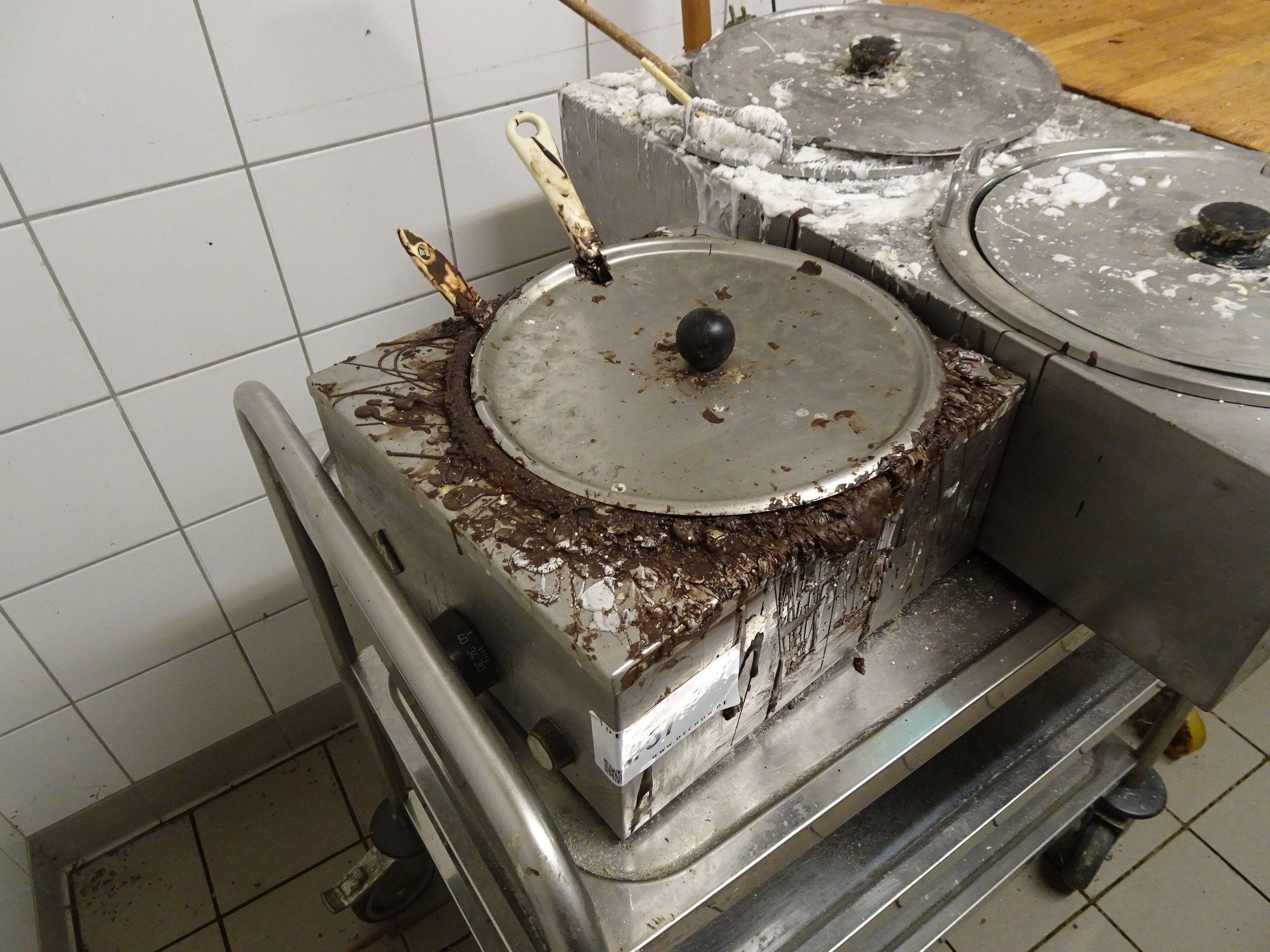 1 Schokoladen-Wärmer MKM