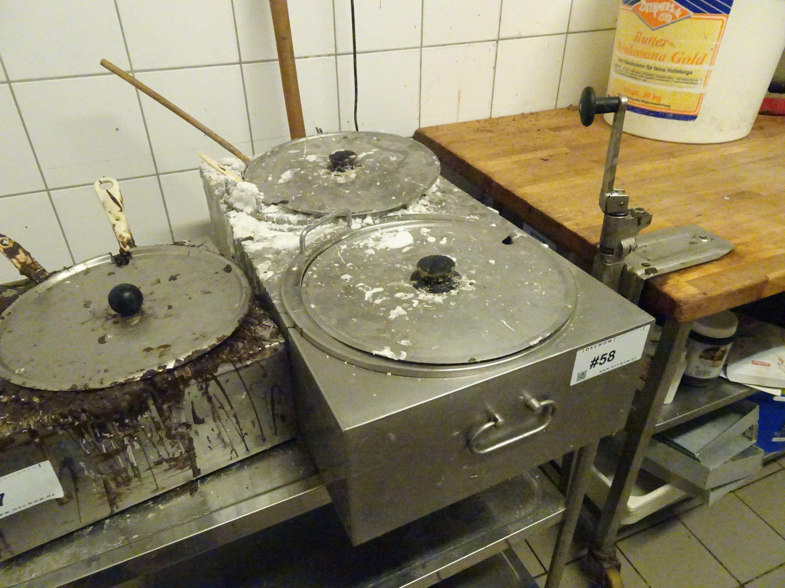 1 Elektro-Zuckergusswärmer