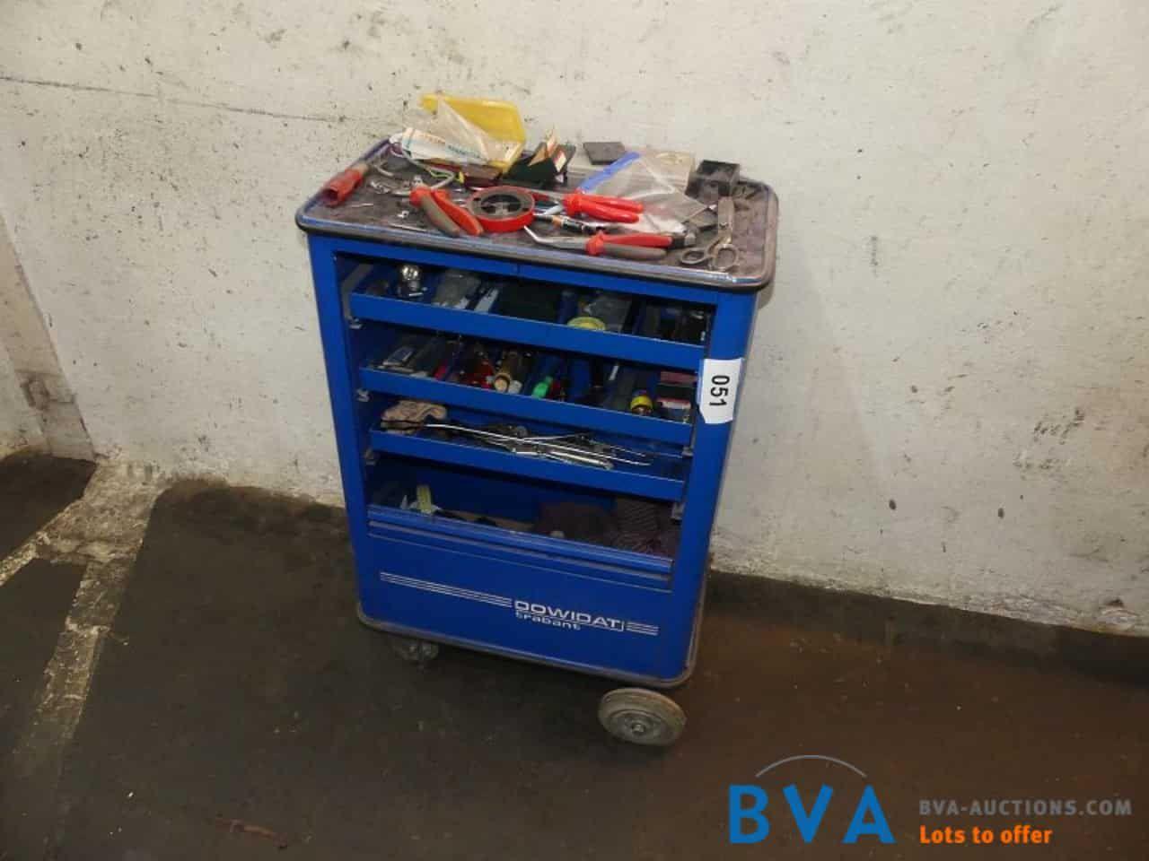 Werkzeugwagen Dowidat Trabant