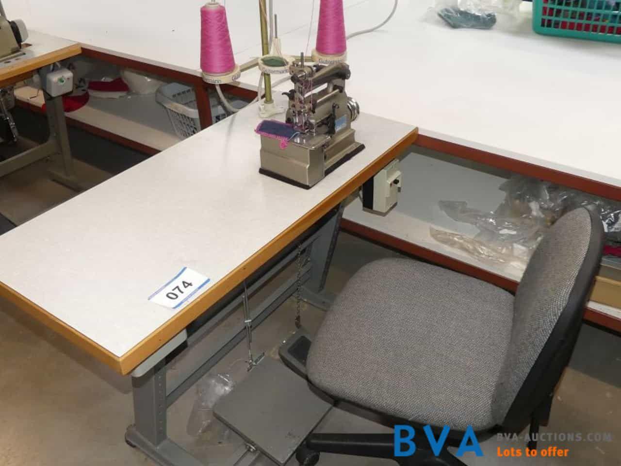 Enden-Decken-Einfassmaschine/Bördelmaschine Irmscher Klasse 27FJ Nr. 3050