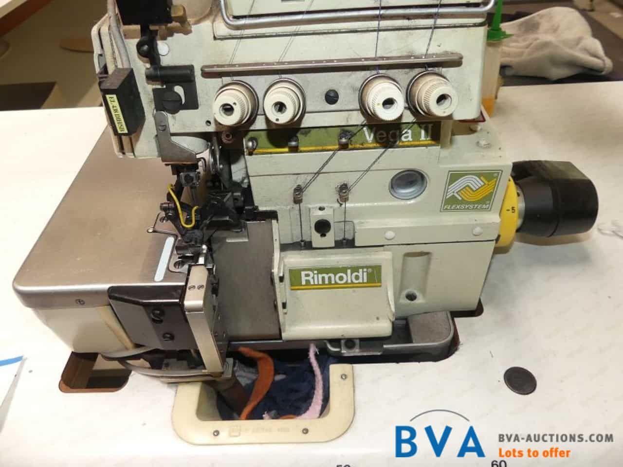 4-Faden-2-Nadel-Overlock-Nähmaschine Rimoldi VegaII