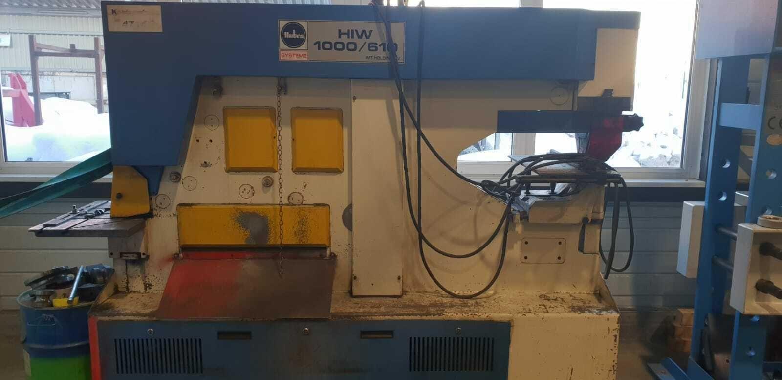 MUBEA HIW 1000/610 (PEDDINGHAUS) Profilstahlschere