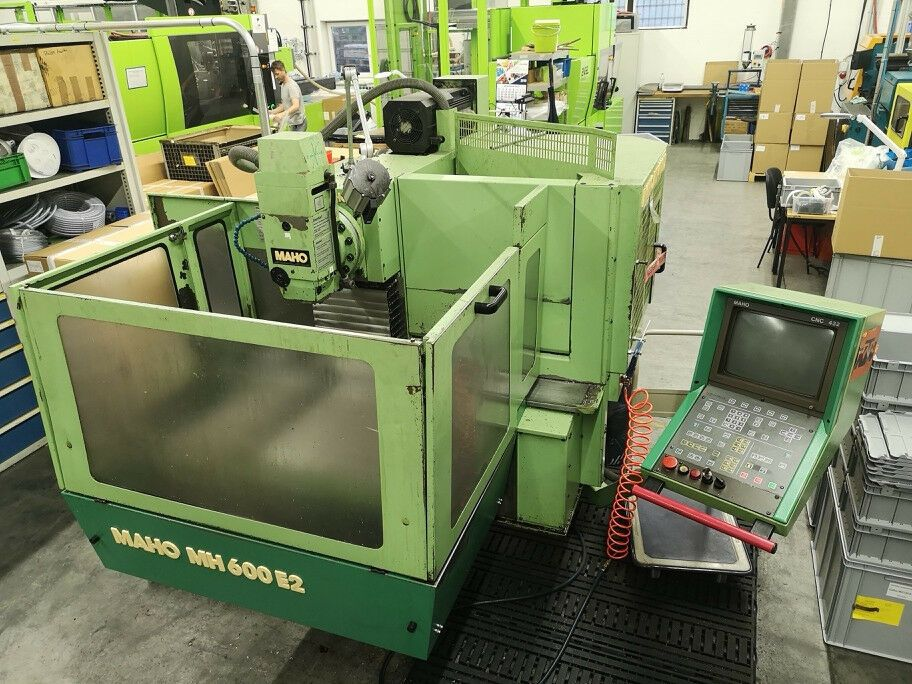 CNC Fräsmaschine MAHO MH 600 E2 + Phillips 432 + 20-fach Wechsler