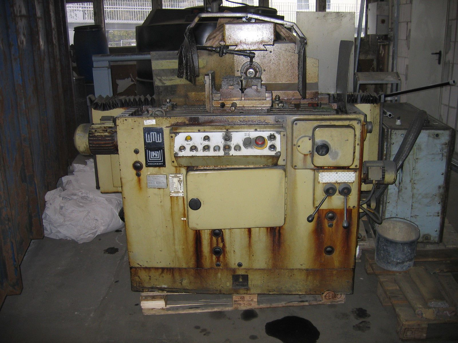 Fräsmaschine, Nutenfräsmaschine, WMW, FNW 32 x 500