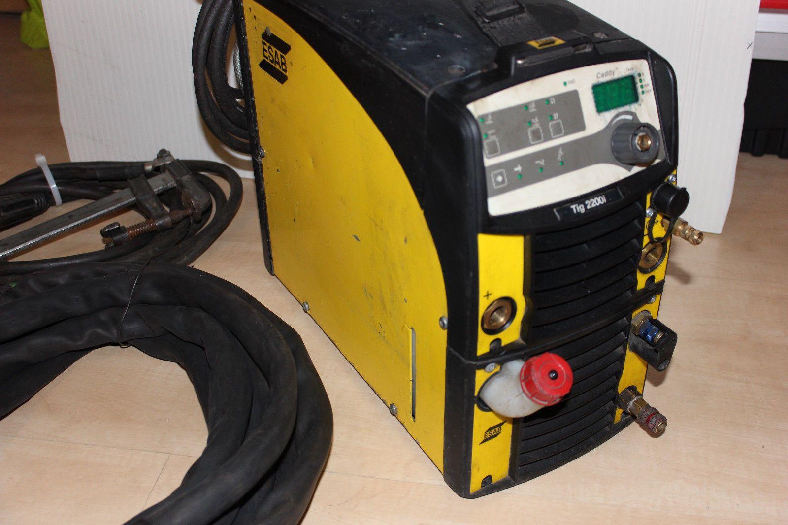 ESAB CADDY TIG 2200i TA33 WIG Wassergekühlt